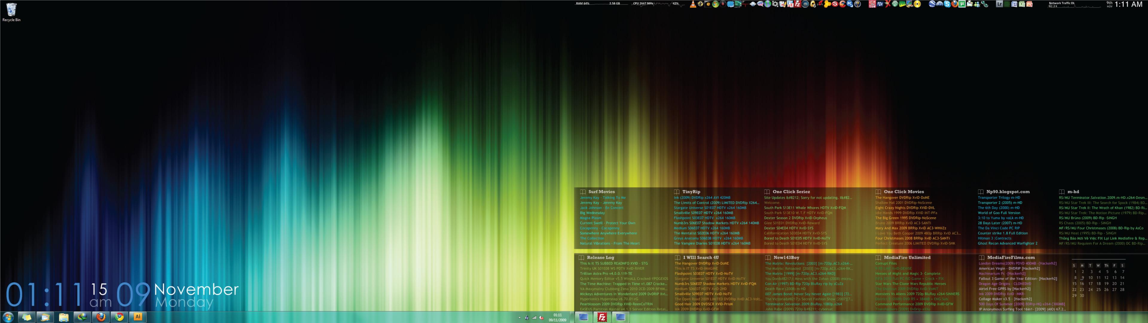 dual monitor wallpaper windows 7