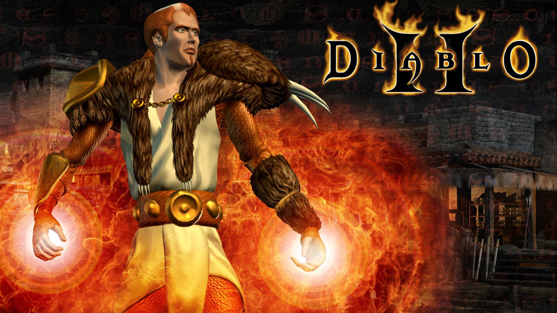 Free Diablo II Wallpaper in 1920×1080