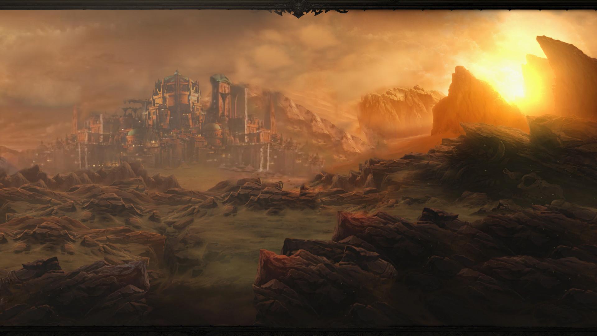 … Diablo 3 Act 2 Wallpaper by Arixev