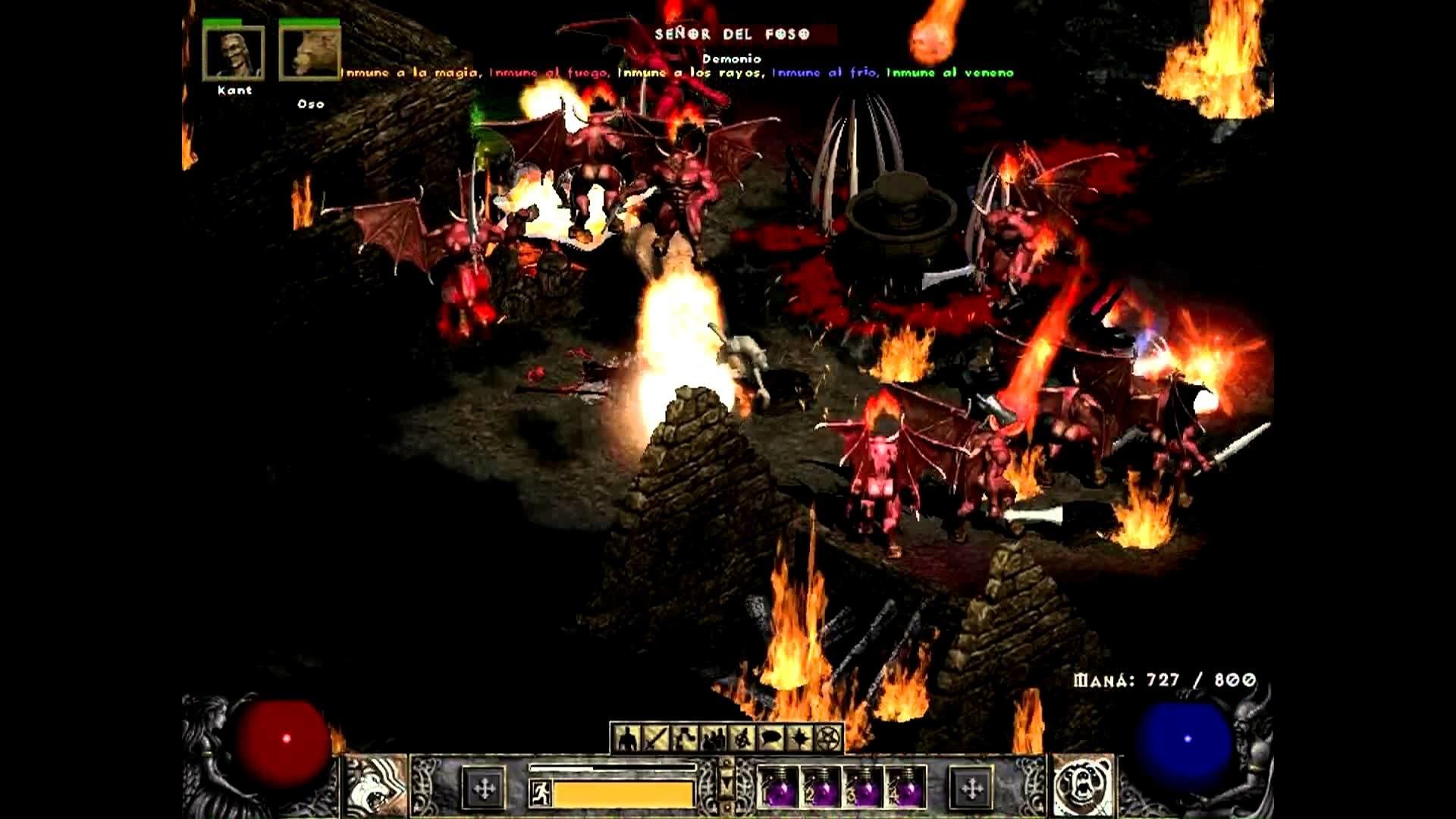 Diablo 2 – Tristán [Druida & nigromante Vs Diablo]