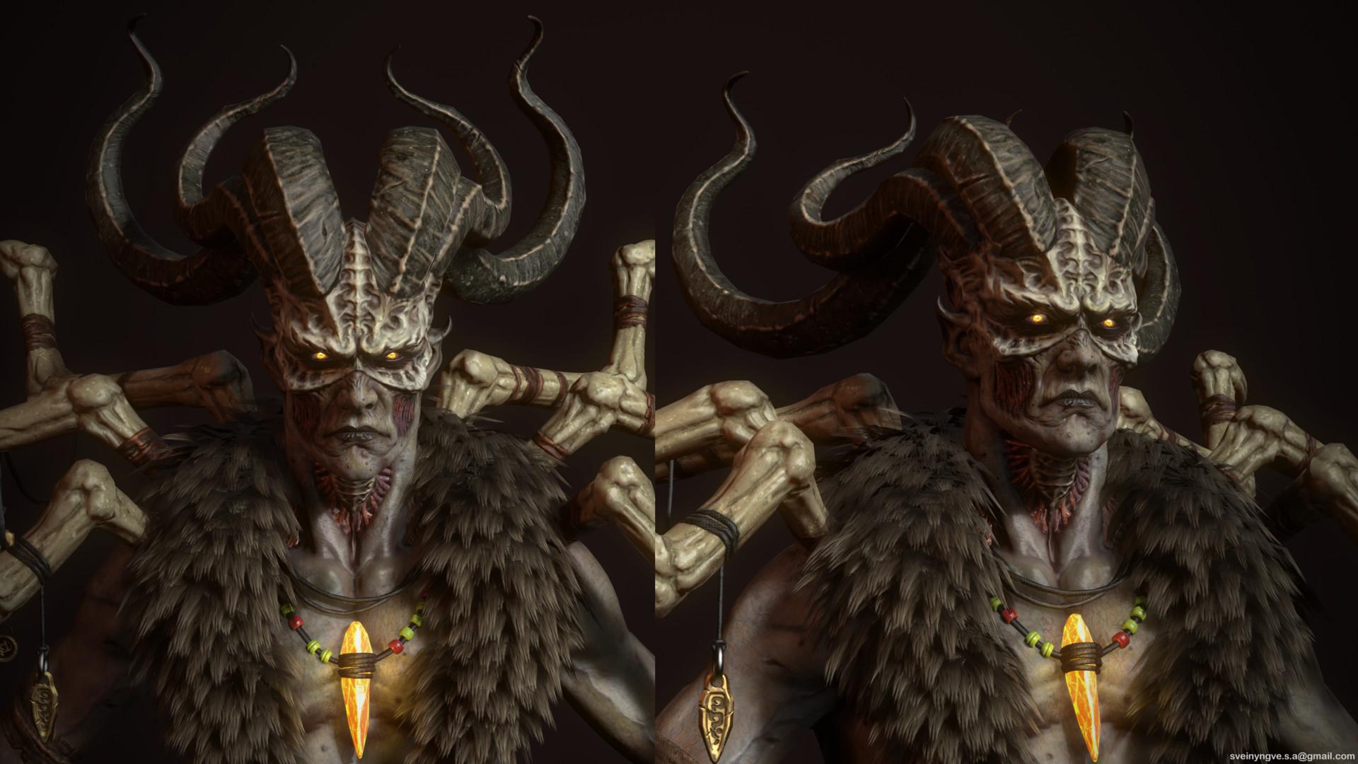 Diablo II's Final Boss, Looking Unusually Badass