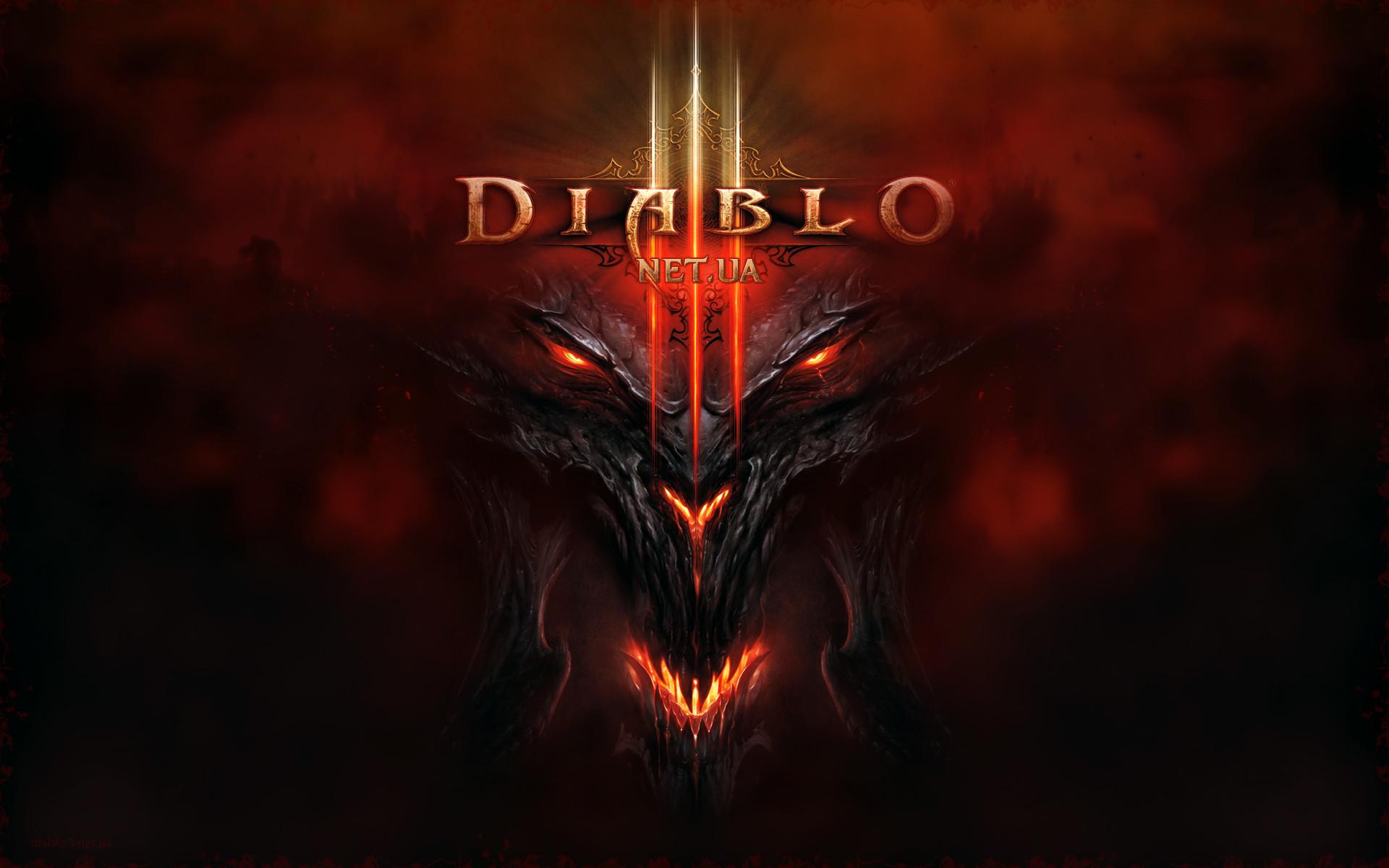 Diablo 3 logo dark 2 wallpaper from Diablo 3 wallpapers