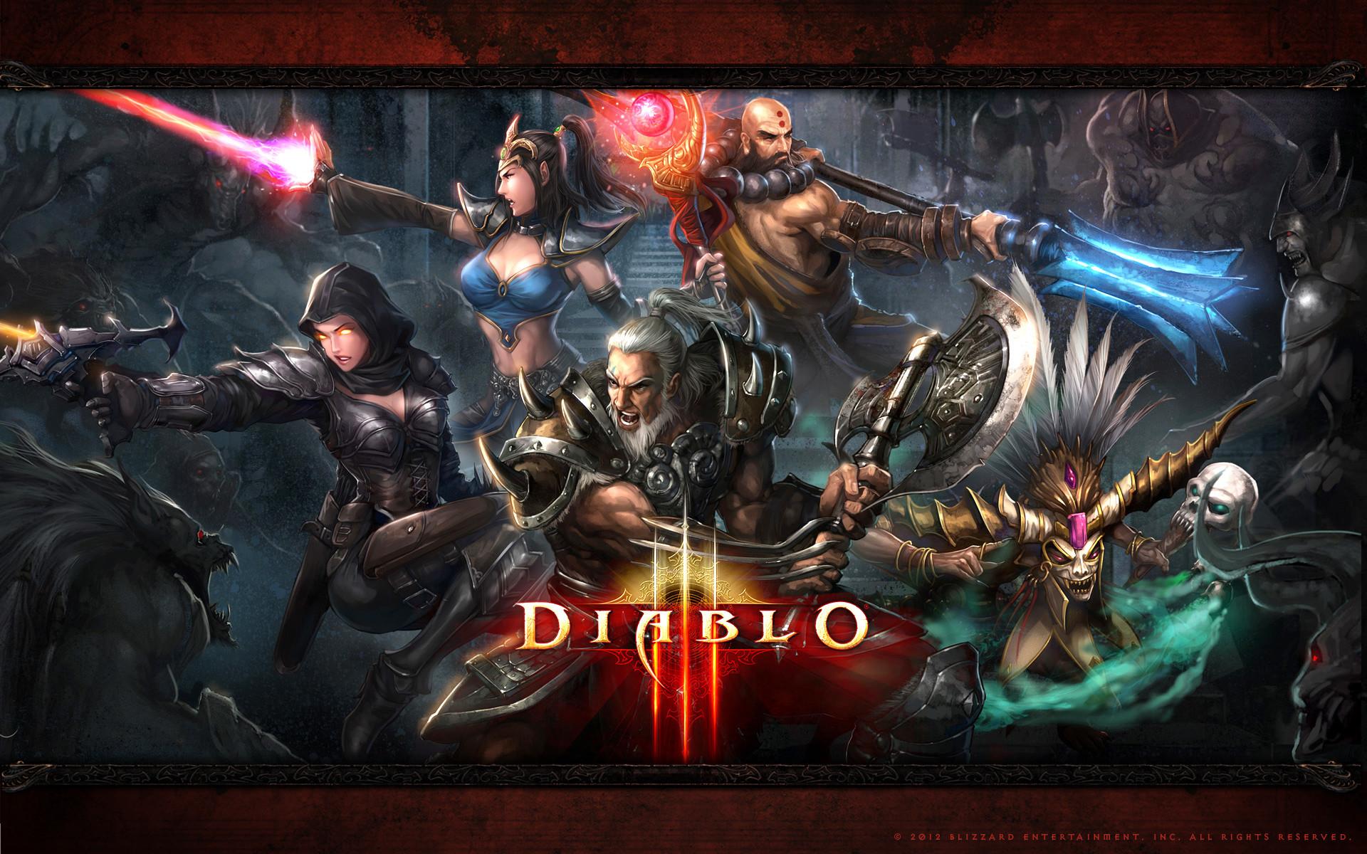 Diablo Single Screen HD desktop wallpaper High Definition Mobile | HD  Wallpapers | Pinterest | Wallpaper and Wallpaper pc