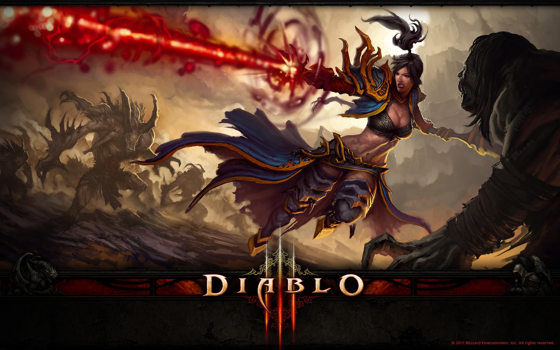 DIablo 3 2 wallpaper from Diablo 3 wallpapers