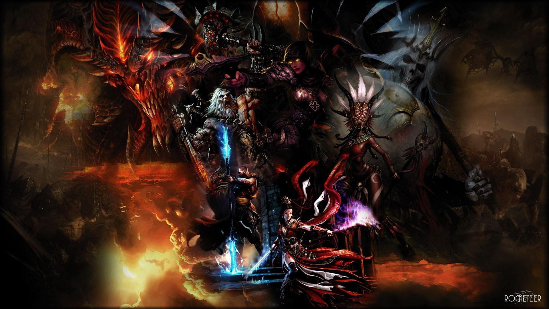114 Demon Hunter (Diablo III) HD Wallpapers | Backgrounds – Wallpaper Abyss  – Page 3