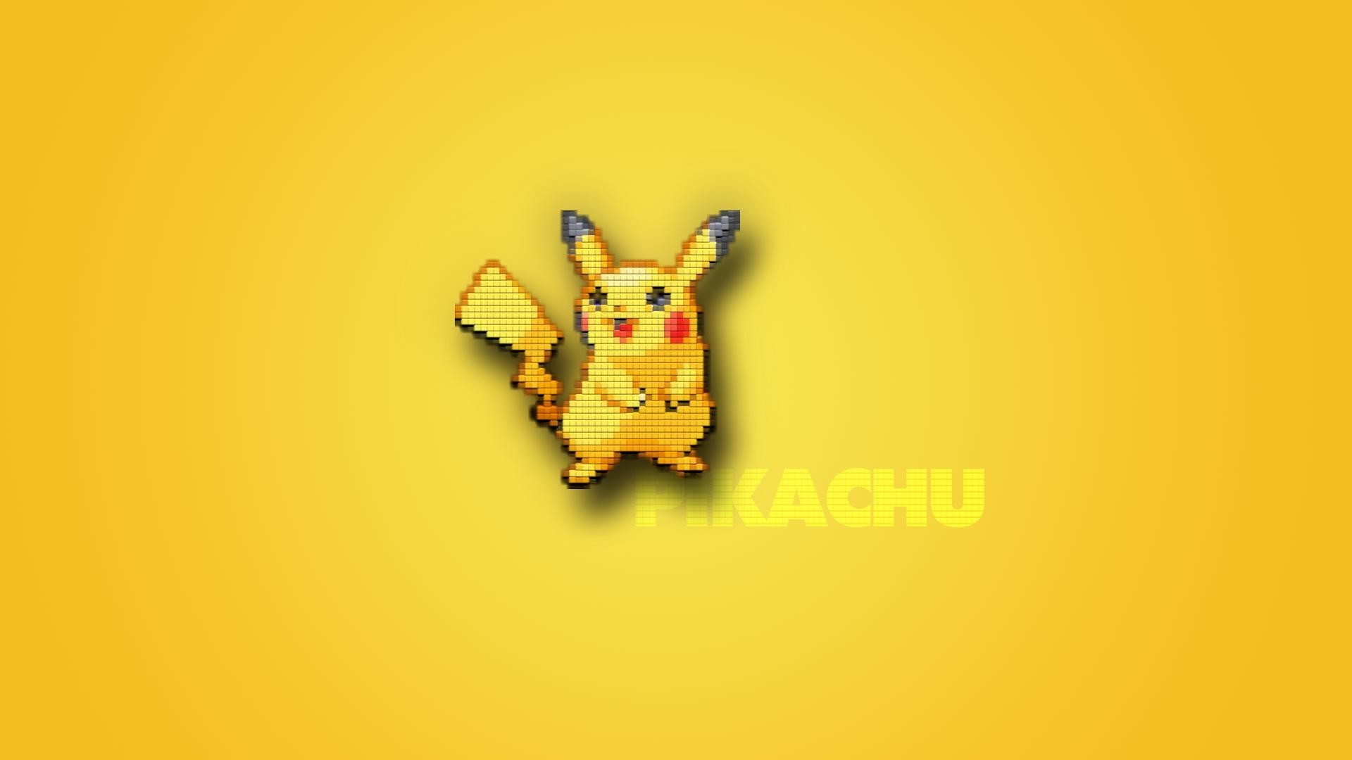 Pikachu wallpaper made by me.