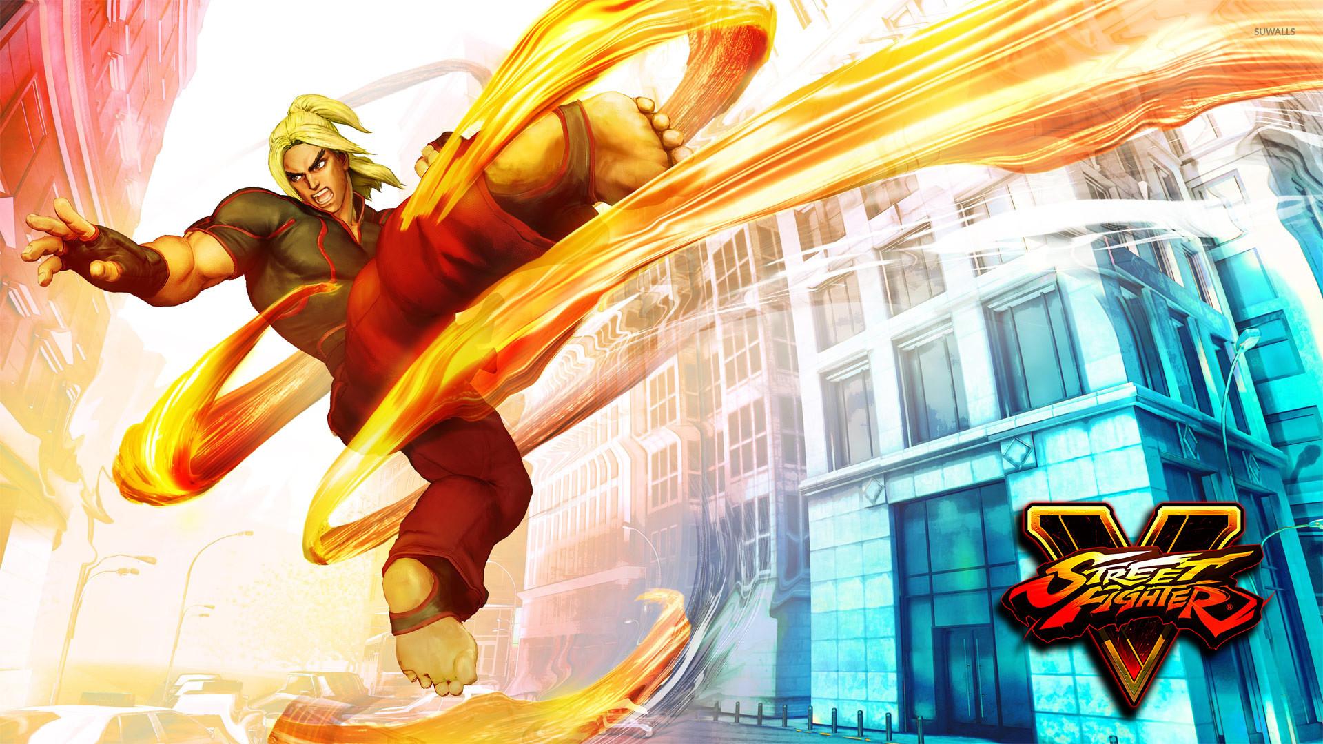 Ken in Street Fighter V wallpaper jpg