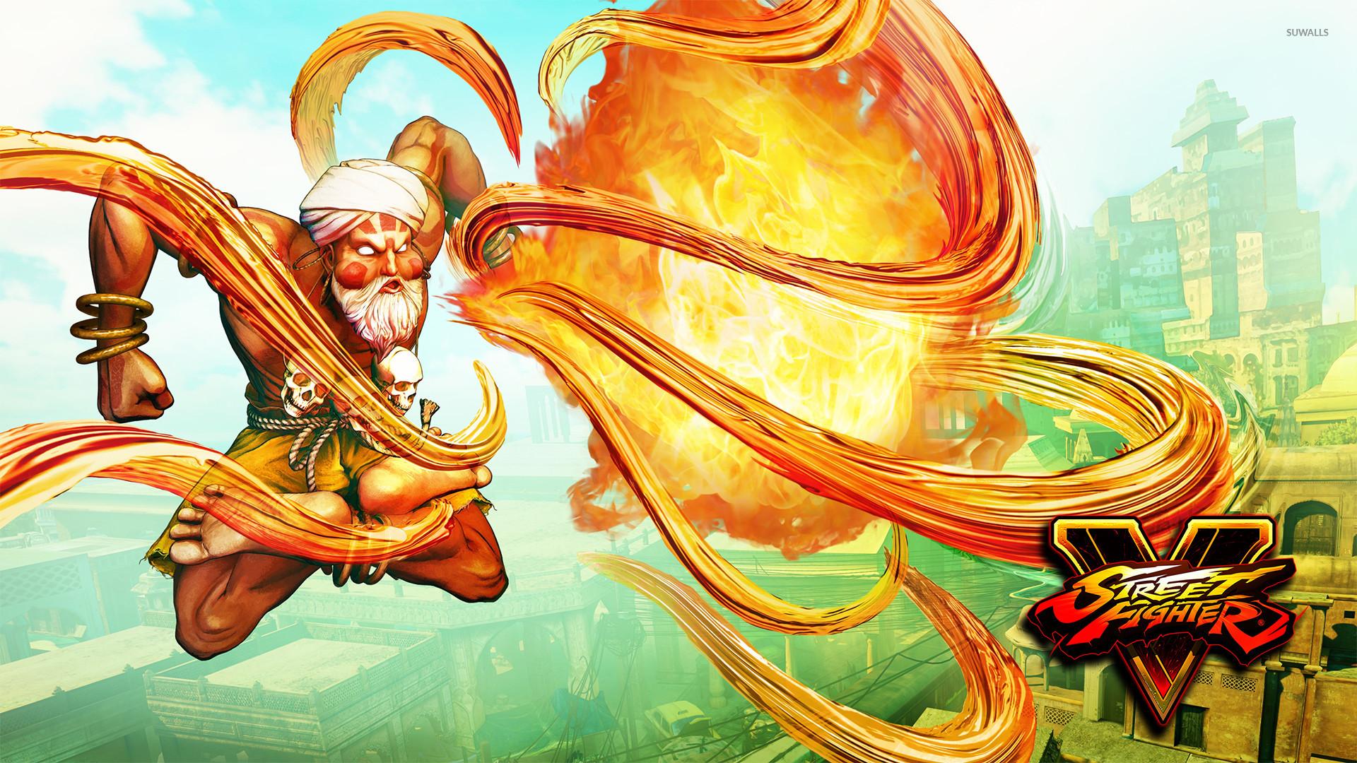 Dhalsim in Street Fighter V wallpaper