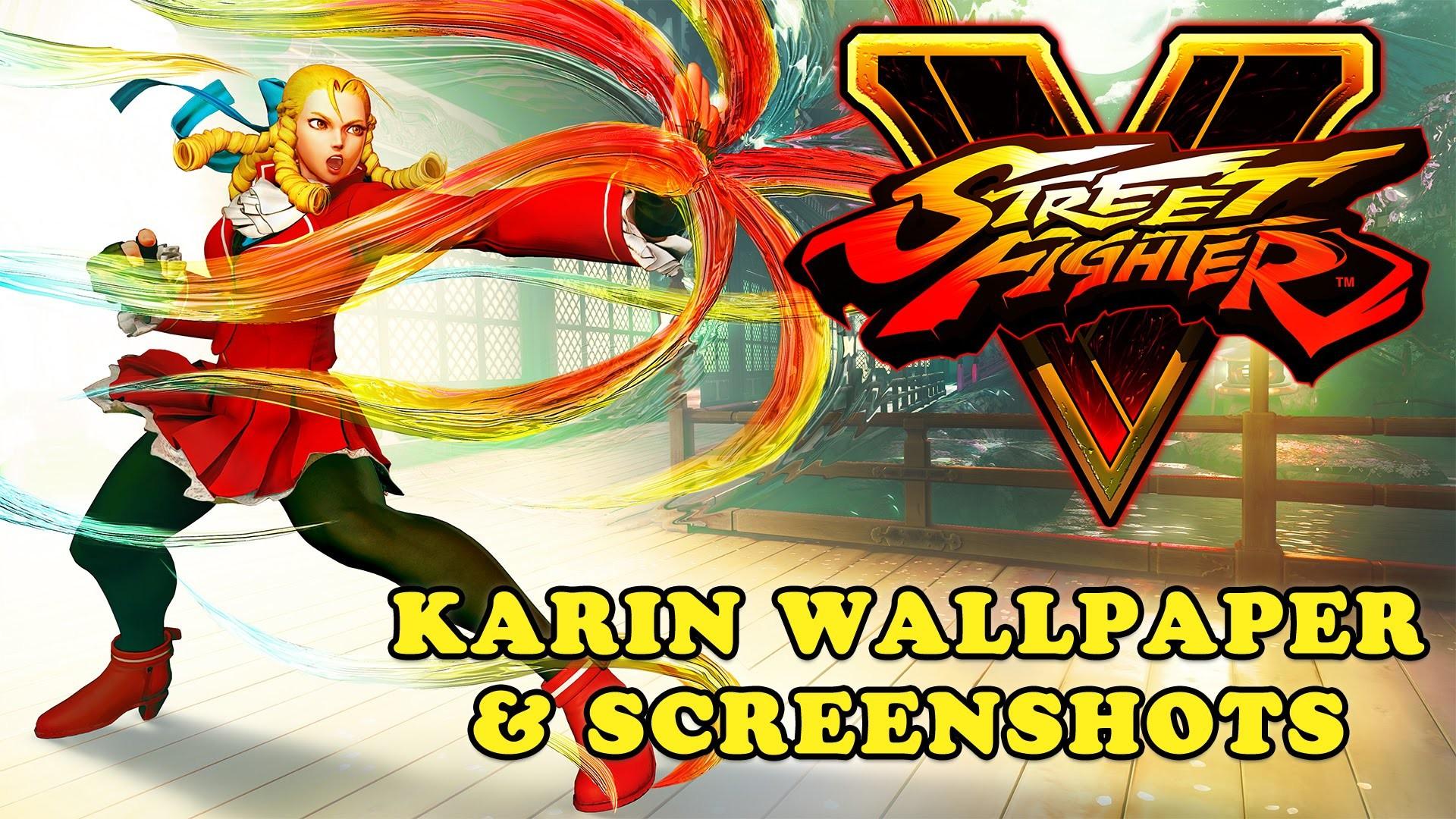 Street Fighter V – Karin Wallpaper and Screenshots (Download Link) – YouTube