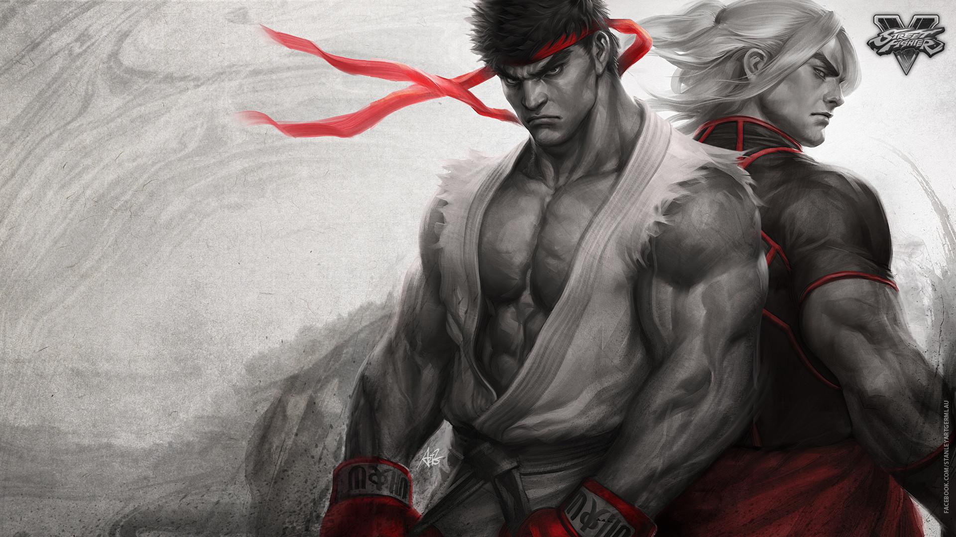 Ryu, Ken, Street Fighter V