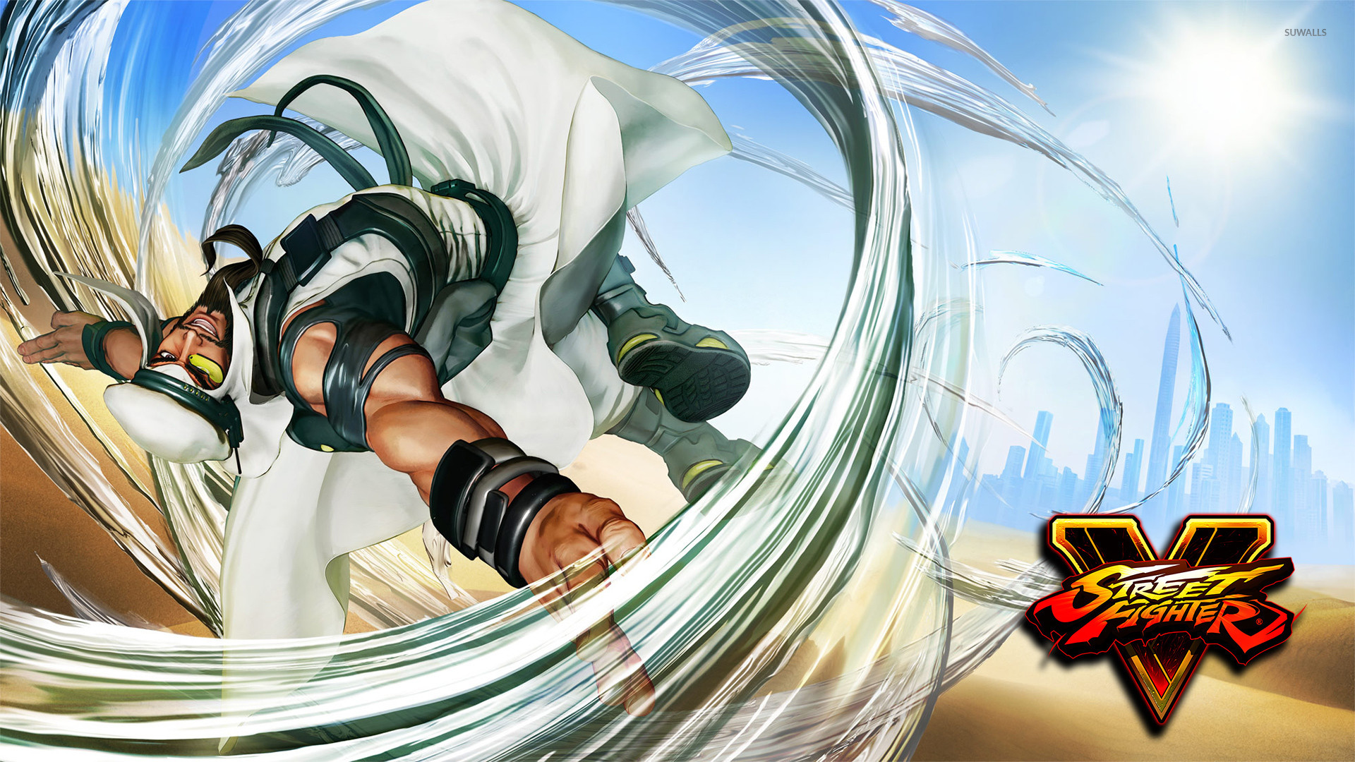 Rashid in Street Fighter V wallpaper jpg