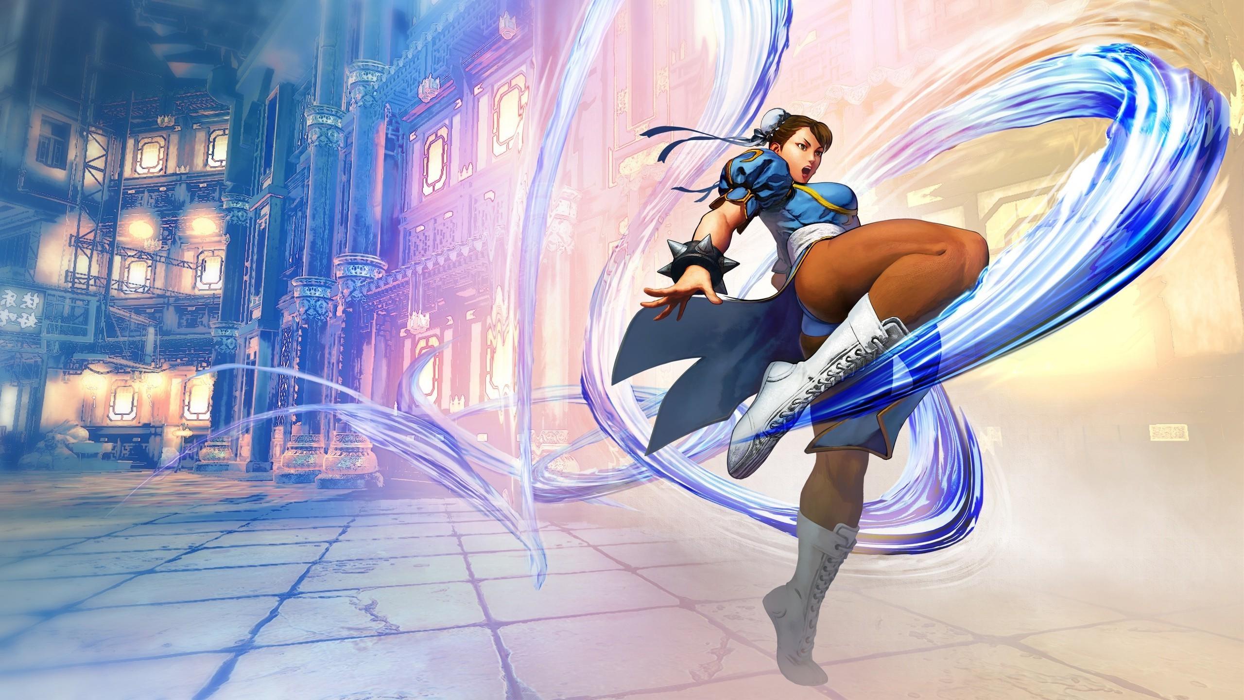 video Games, Video Game Girls, Chun Li, Street Fighter V, Street Fighter,  Artwork Wallpapers HD / Desktop and Mobile Backgrounds