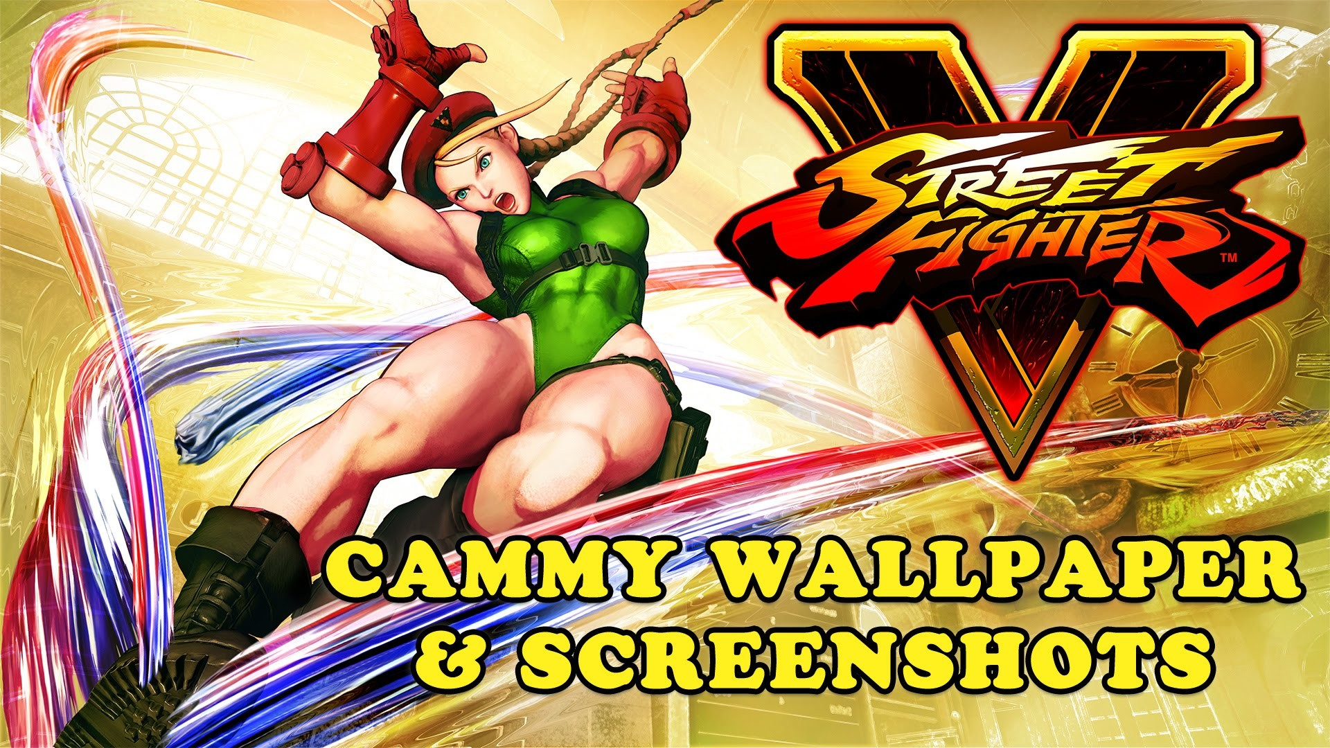 Street Fighter V – Cammy Wallpaper and Screenshots (Download Link) – YouTube