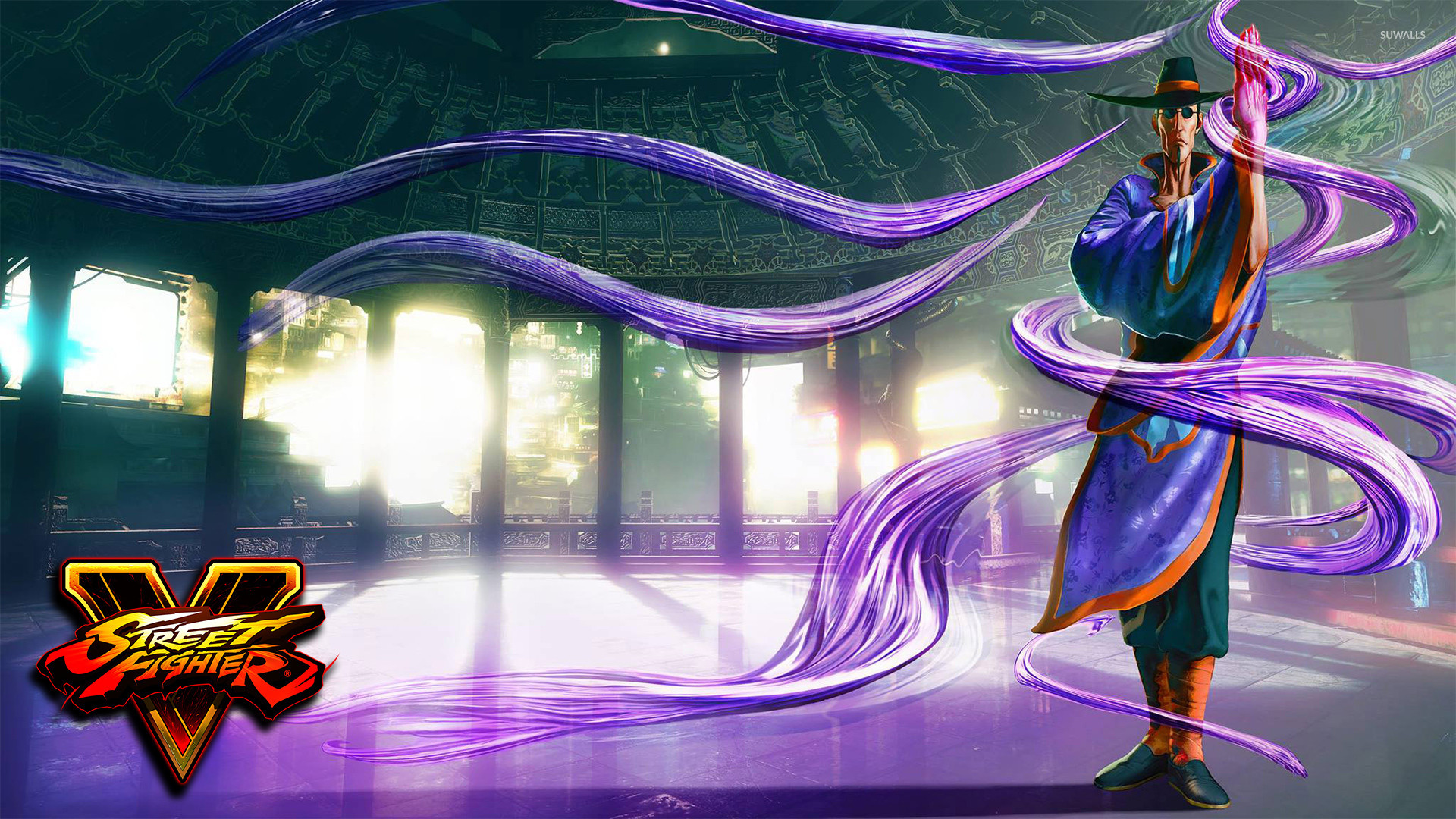 F.A.N.G. in Street Fighter V wallpaper