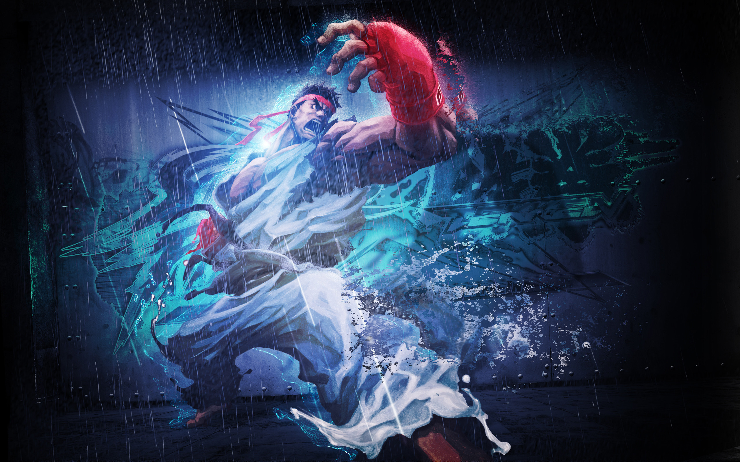 Ryu in The Street Fighter