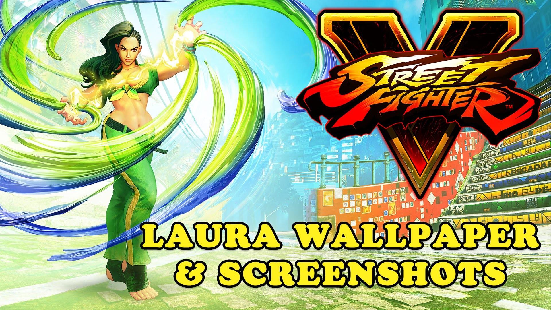 Street Fighter V – Laura Wallpaper and Screenshots (Download Link)