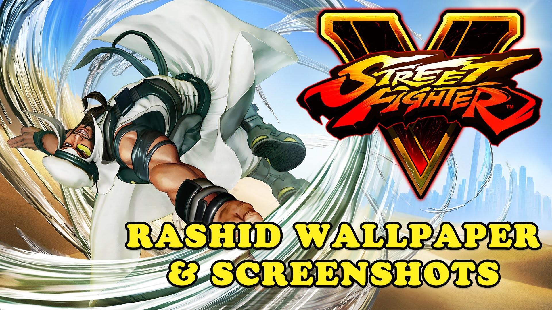 Street Fighter V – Rashid Wallpaper and Screenshots (Download Link) –  YouTube