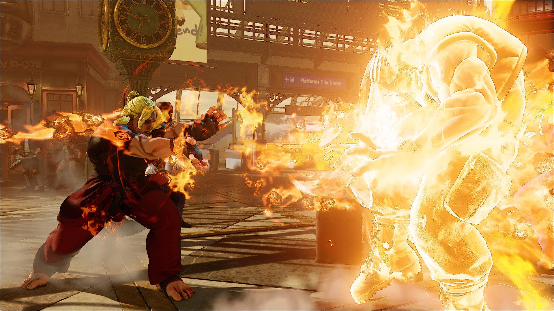 Street Fighter V will be exclusively for PS4 and PC and for more  information, visit https://www.streetfighter.com/