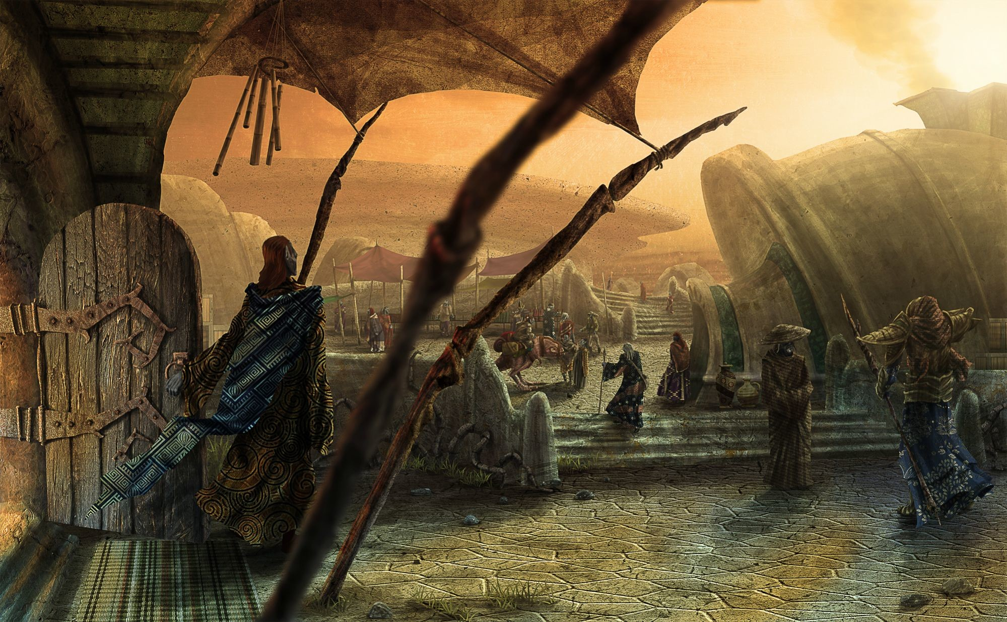 Request: Some cool Morrowind wallpapers; Scenery, Important people, just  cool shit in general. (i loaded a small album of examples, enjoy) :  Morrowind