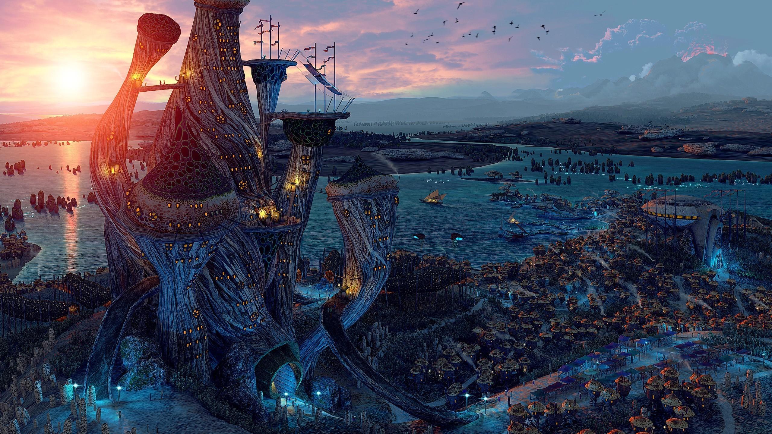 … Elder Scrolls III – Morrowind HD Wallpaper 2560×1440
