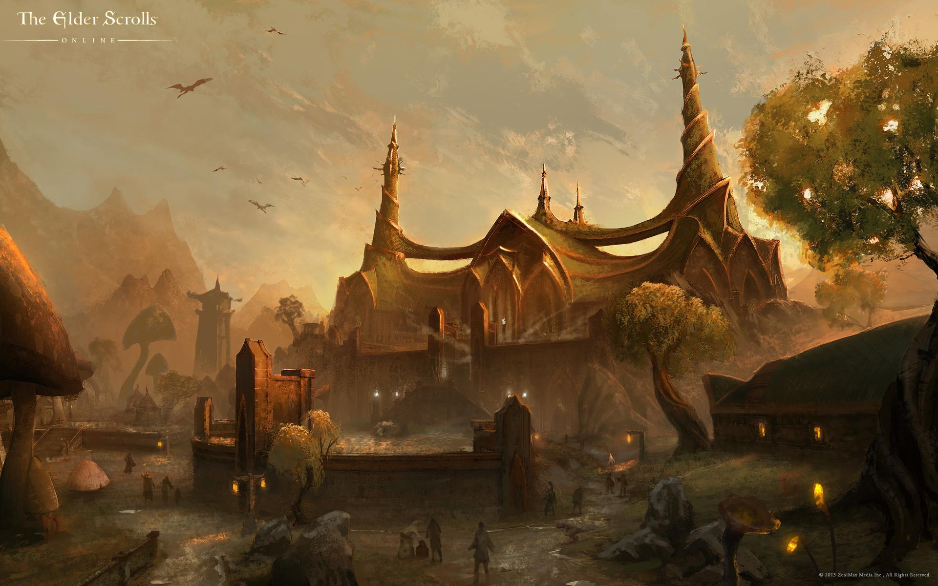 Wallpaper The Elder Scrolls III: Tribunal » The Elder Scrolls: Fan site