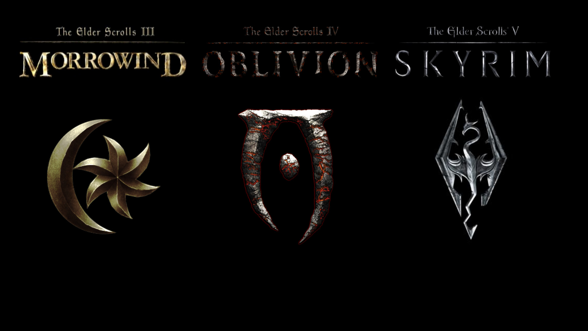 The Elder Scrolls, The Elder Scrolls V: Skyrim, The Elder Scrolls IV: