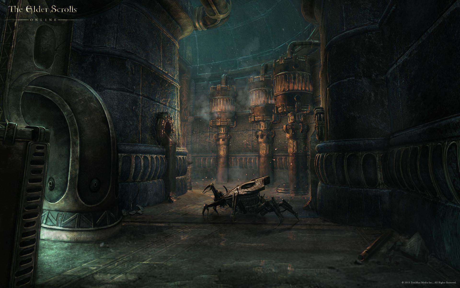 Wallpaper The Elder Scrolls Online: Dwemer Ruin