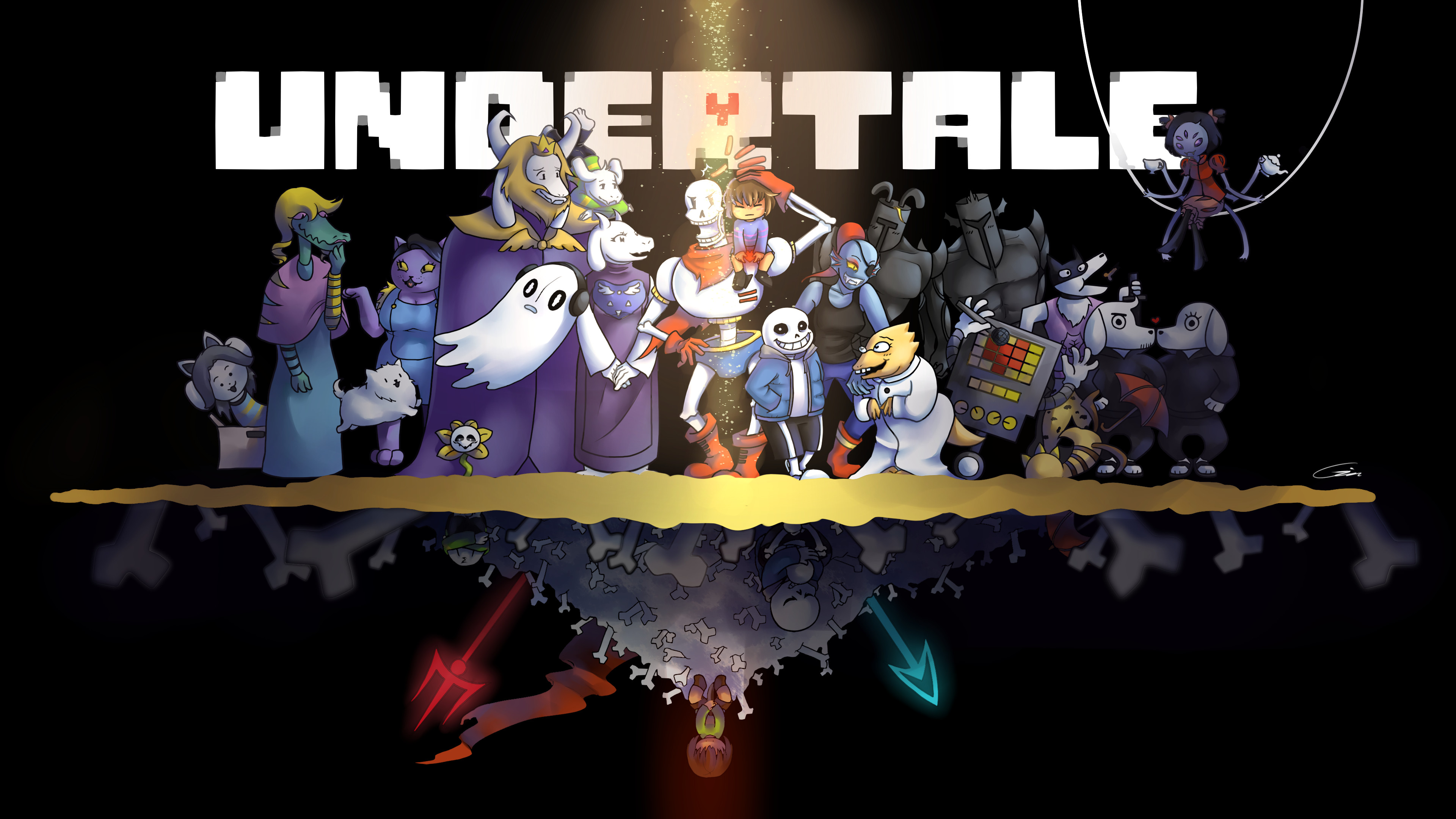 ll give Undertale that it has a cute, balanced, and memorable cast .