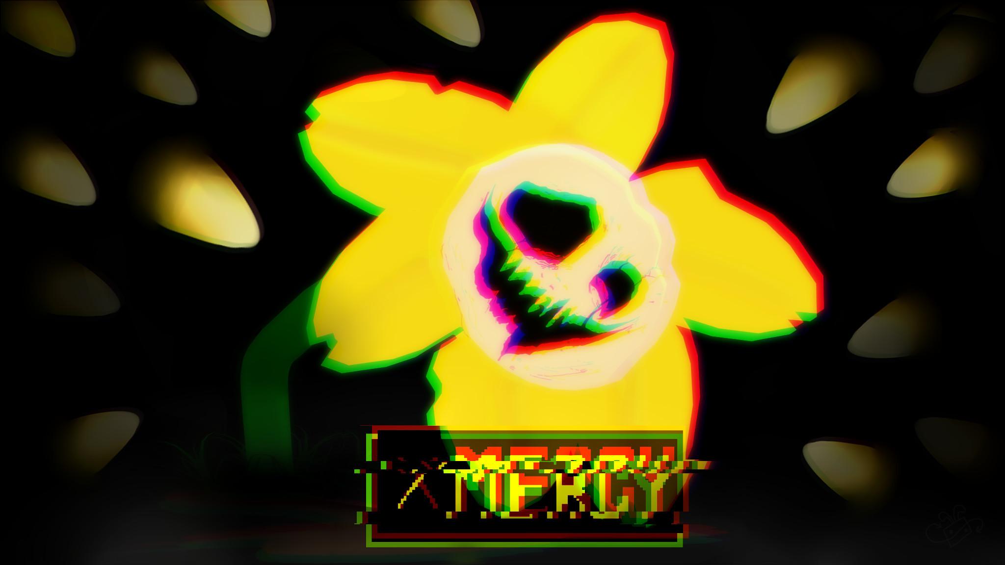 No MERCY – Flowey by PlayerEvil