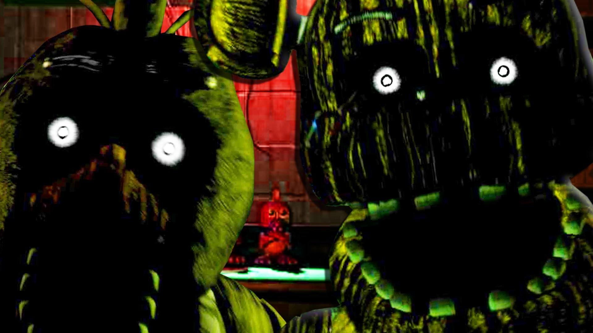 FIVE NIGHTS AT FREDDY'S 3 – FREDDY FAZBEAR AND CHICA JUMPSCARE! Night 2, 3  Gameplay (FNAF 3) – YouTube