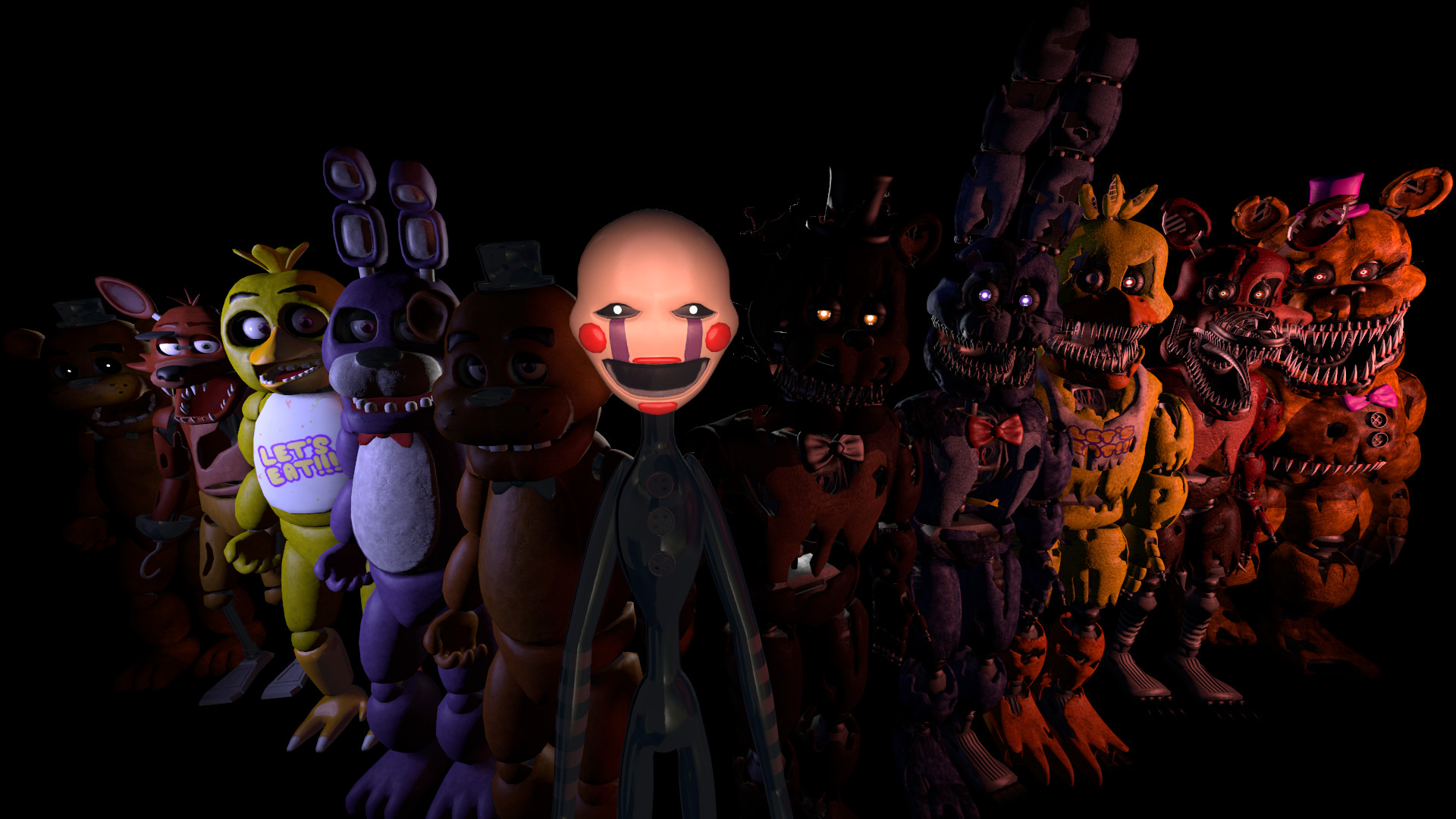 Backgrounds In High Quality: FNAF by Ila Greaney, 07/11/2016