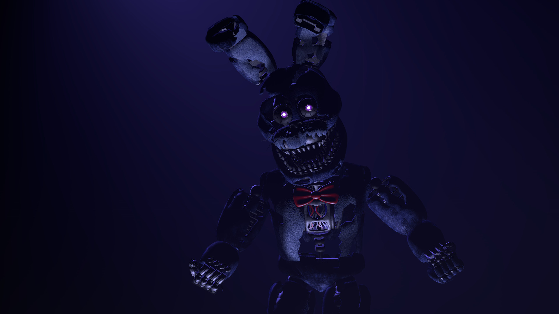 FNAF Nightmare Bonnie HD Wallpapers Free Download » Unique High Resolution  Wallpapers
