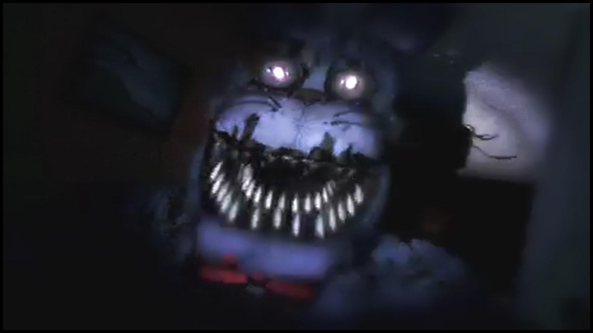 Five Nights At Freddy's 4 TRAILER + LIVE REACTION (Deutsch/German)