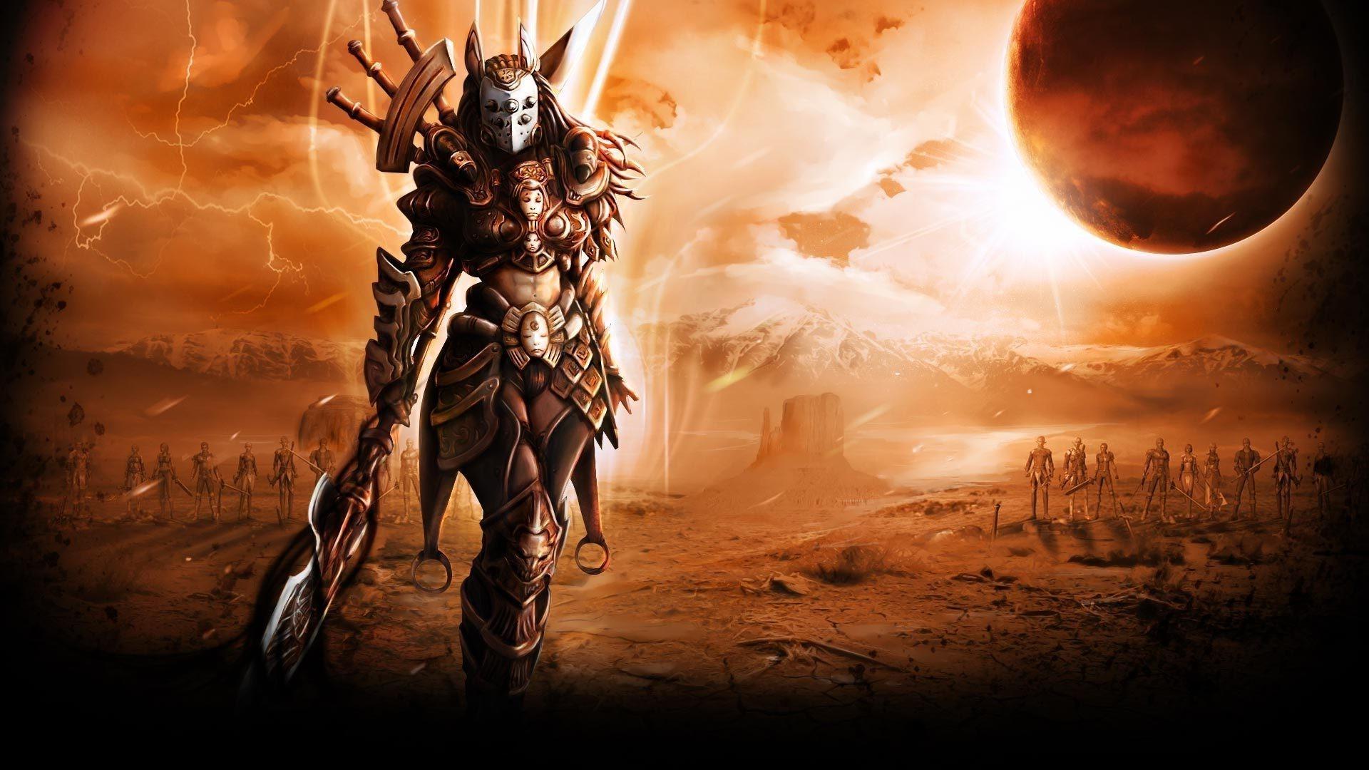 fantasy Art, Legion Commander, Dota 2 Wallpapers HD / Desktop and Mobile  Backgrounds