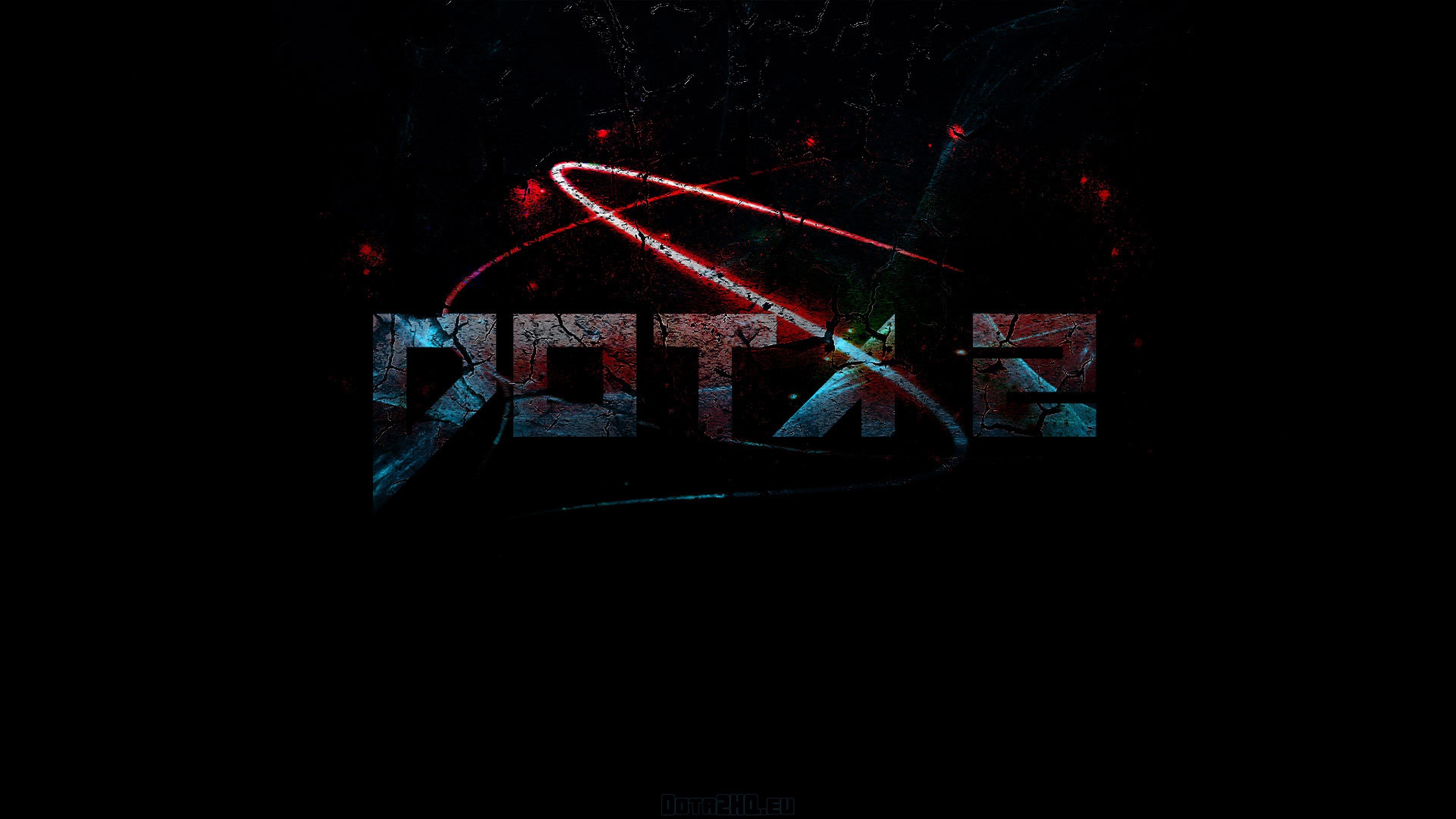 Preview wallpaper dota 2, logo, game 3840×2160