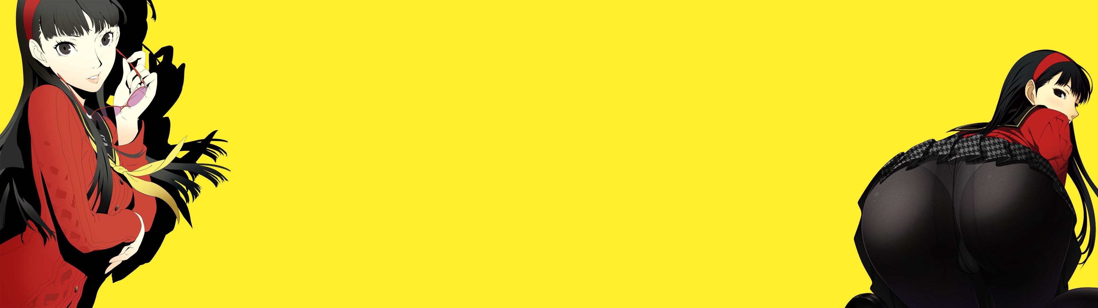 Self Made(half-OC) Yukiko Amagi (Persona 4) [3840×1080] …