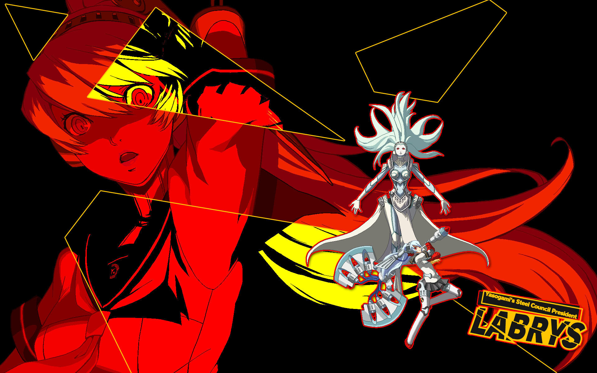 … Labrys – Persona 4 Arena Wallpaper for PC / PS3 by seraharcana