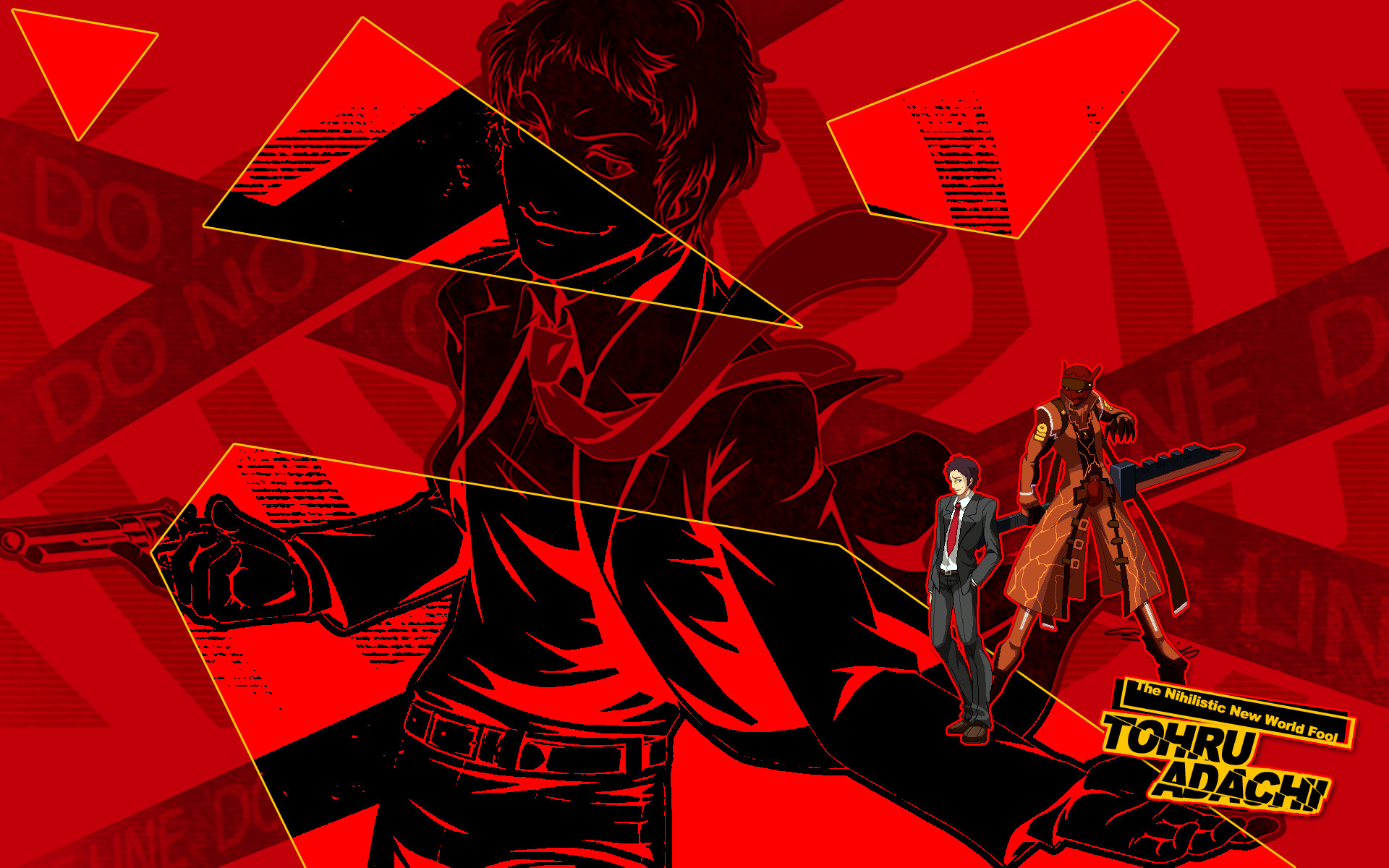 … Adachi – Persona 4 UUSH HD Wallpaper for PC / PS3 by seraharcana