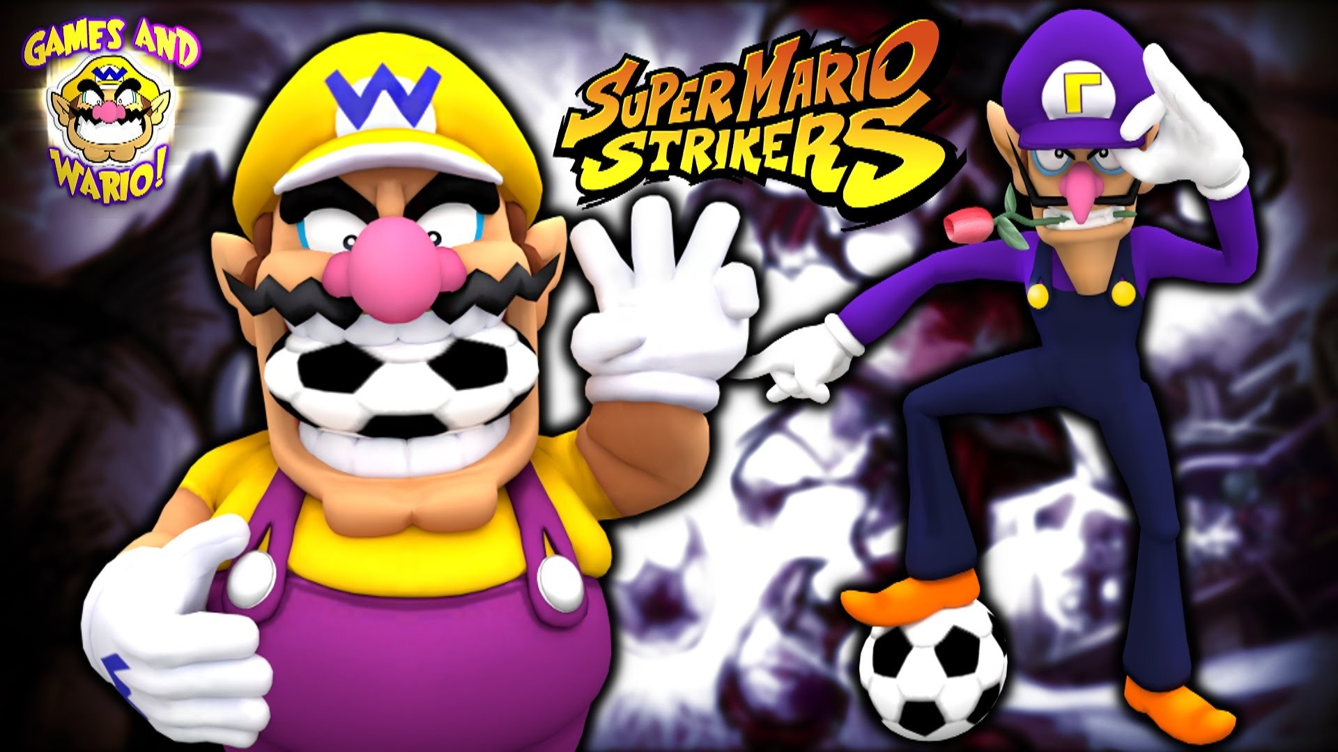 Wario & Waluigi Plays: Super Wario Strikers!