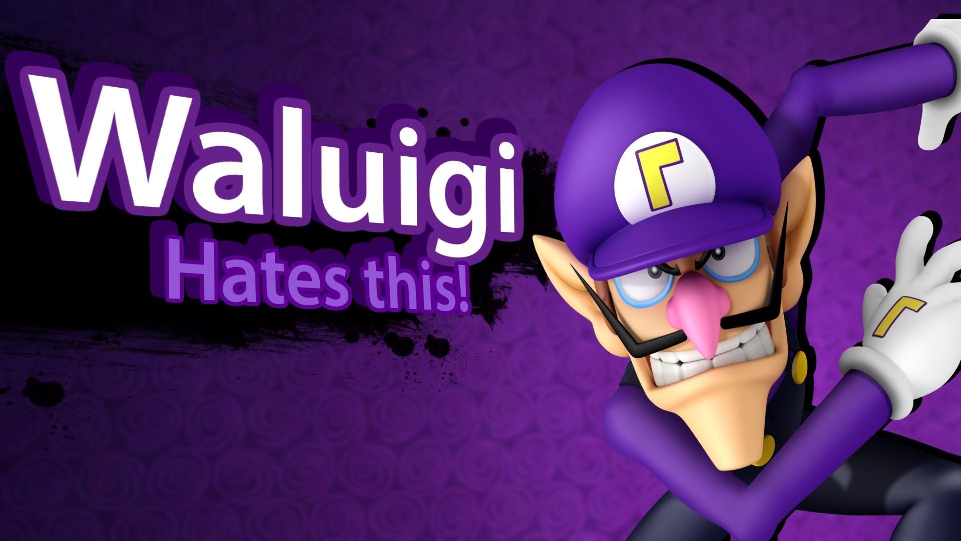 Waluigi hates this | Super Smash Bros. 4 Character Announcement Parodies |  Know Your Meme
