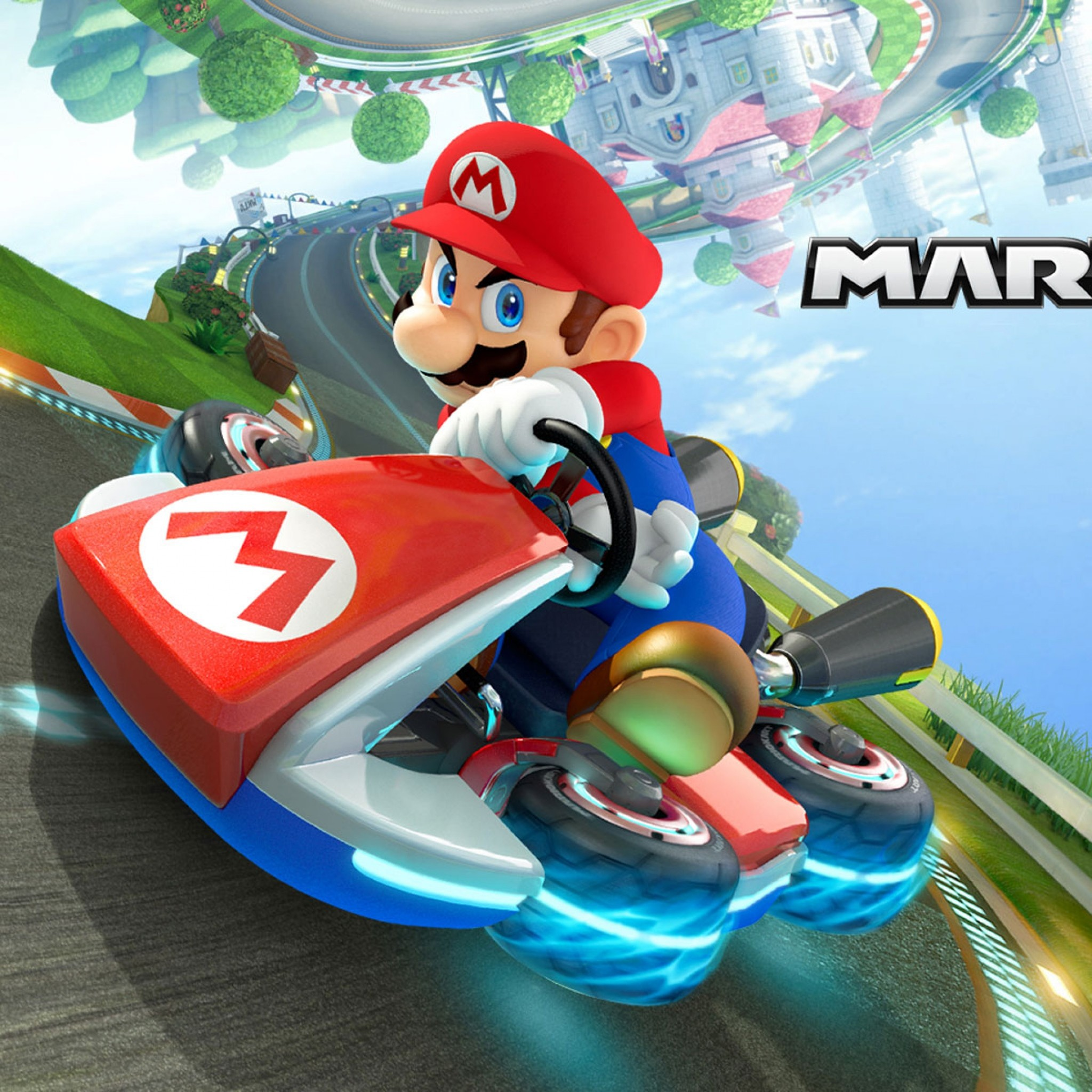 Wallpaper mario kart 8, arcade, racing, may, 2014, mario,
