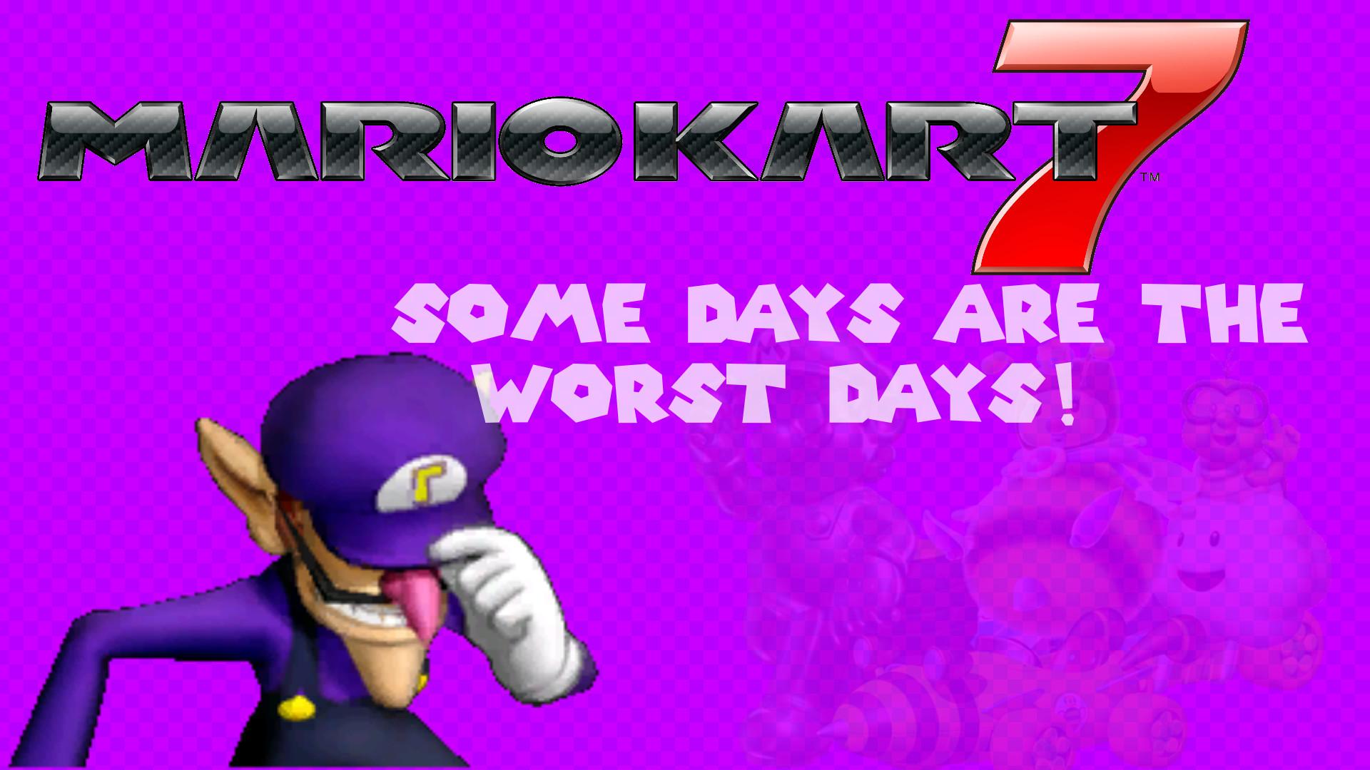 Waluigi Mario Kart 7 Background …