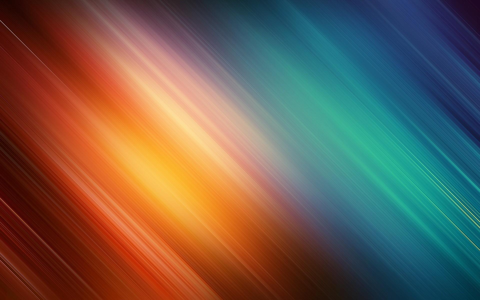 Orange And Blue Wallpaper