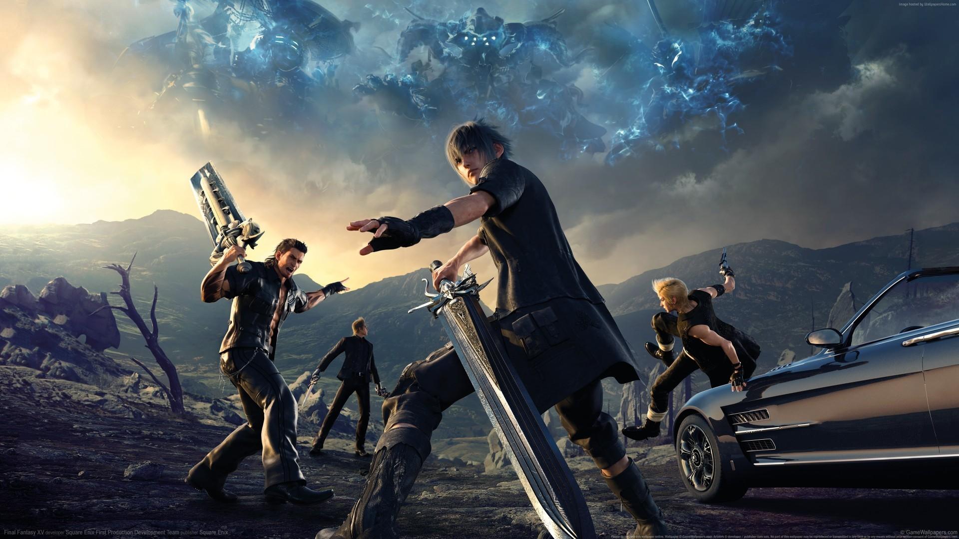 Final Fantasy XV Episode Gladiolus 4K hd wallpaper