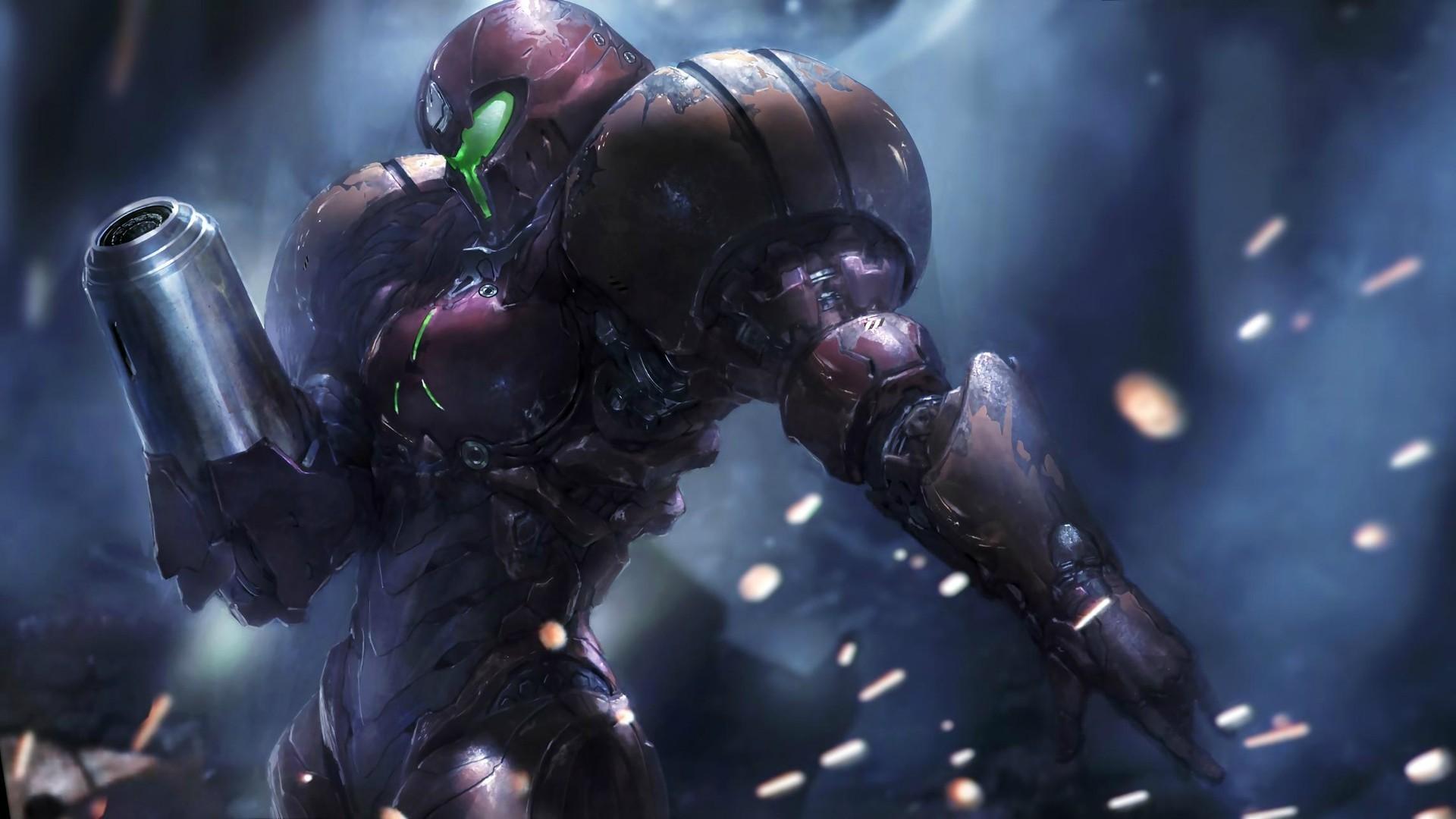 General video games Metroid Samus Aran