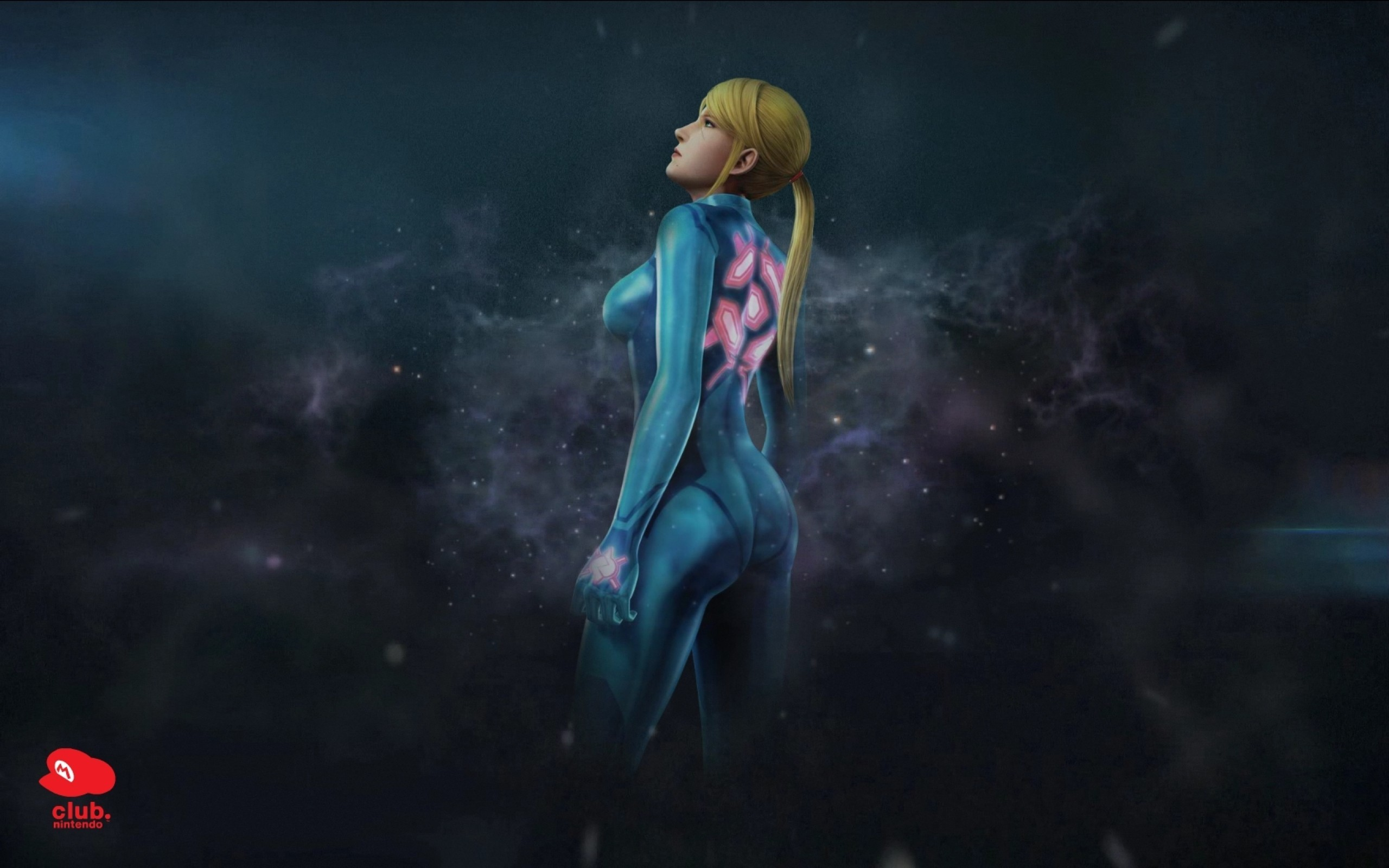 wallpaper Metroid · zero suit · Samus Aran