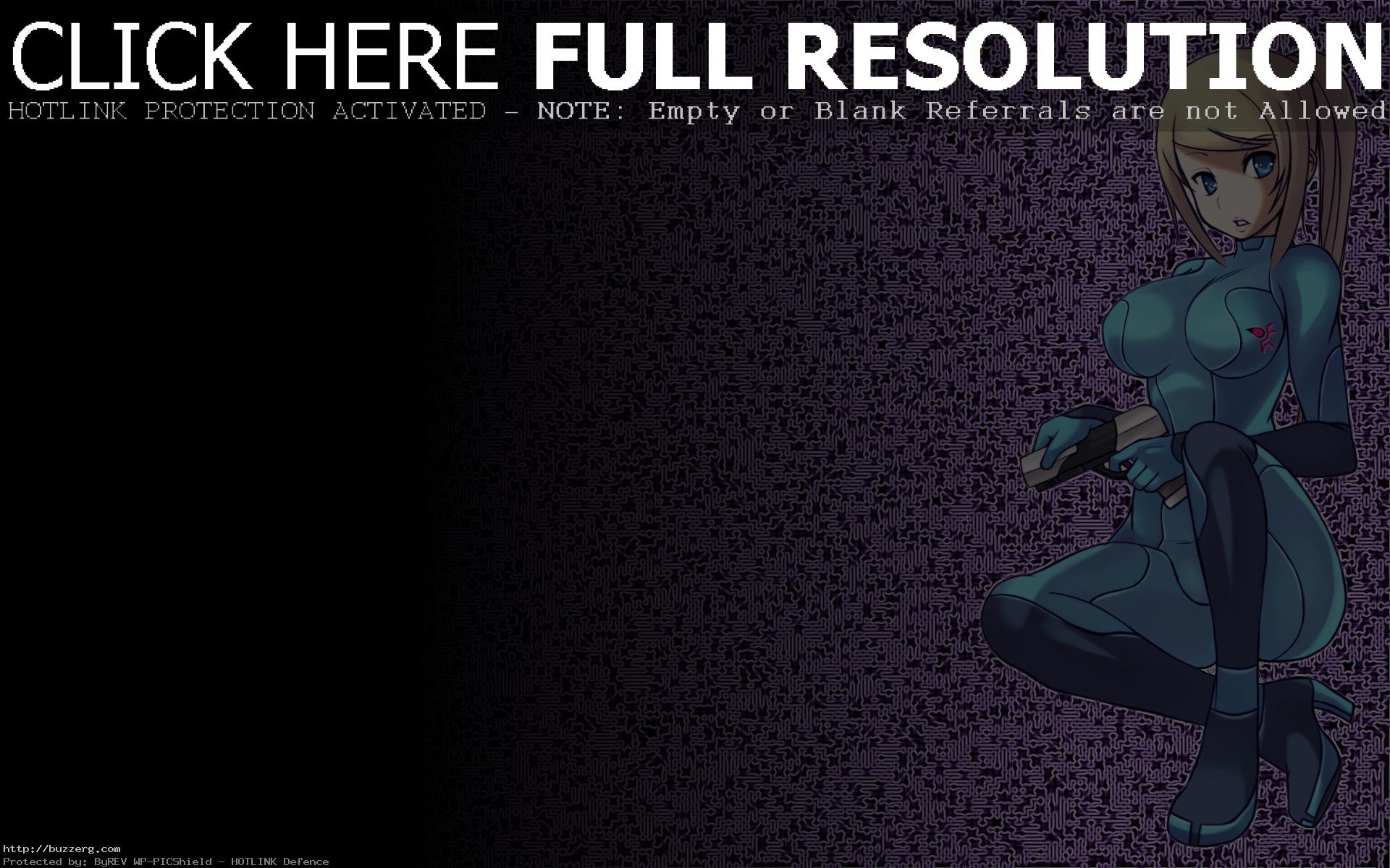 The Of Metroid Zero Suit Samus Aran Fresh (id: 171785)