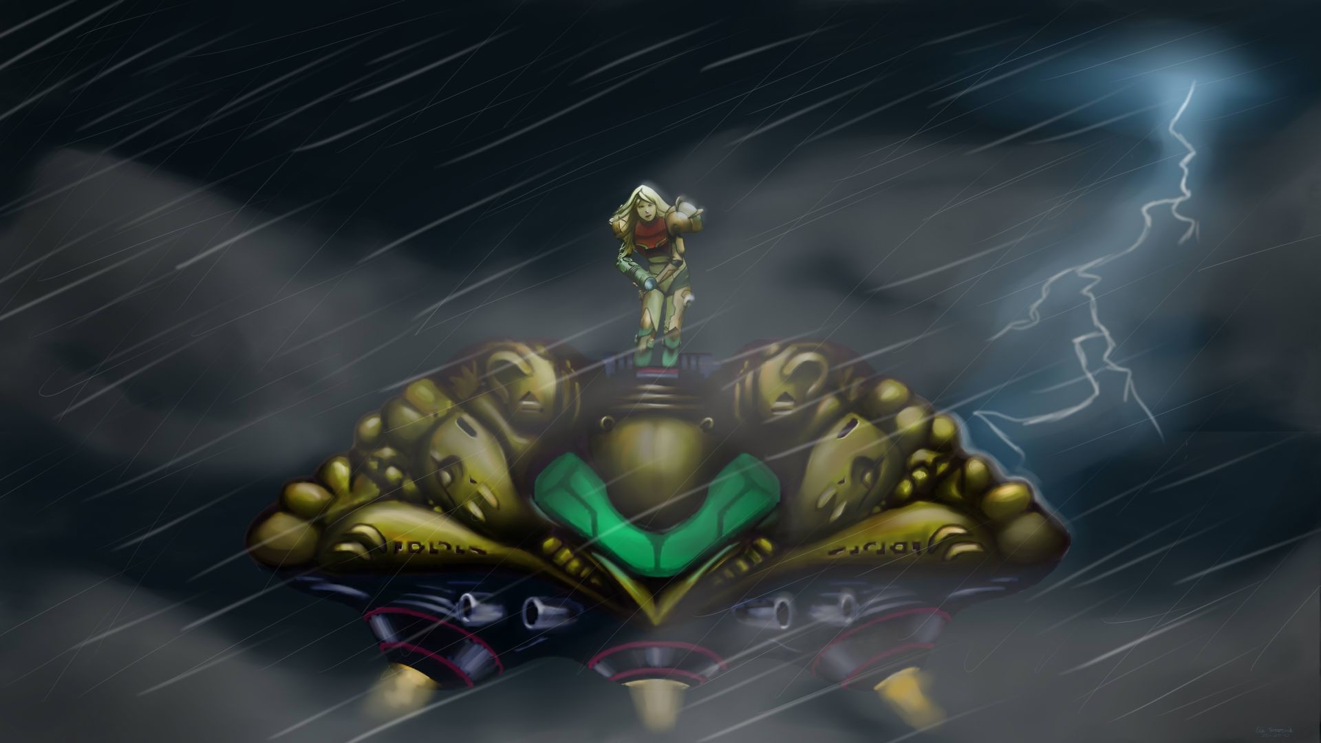 Image gallery for : metroid wallpapers