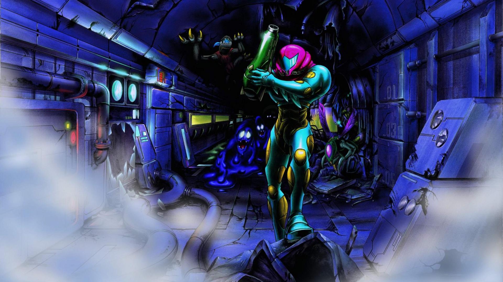 Metroid Fusion Samus Aran Video Games