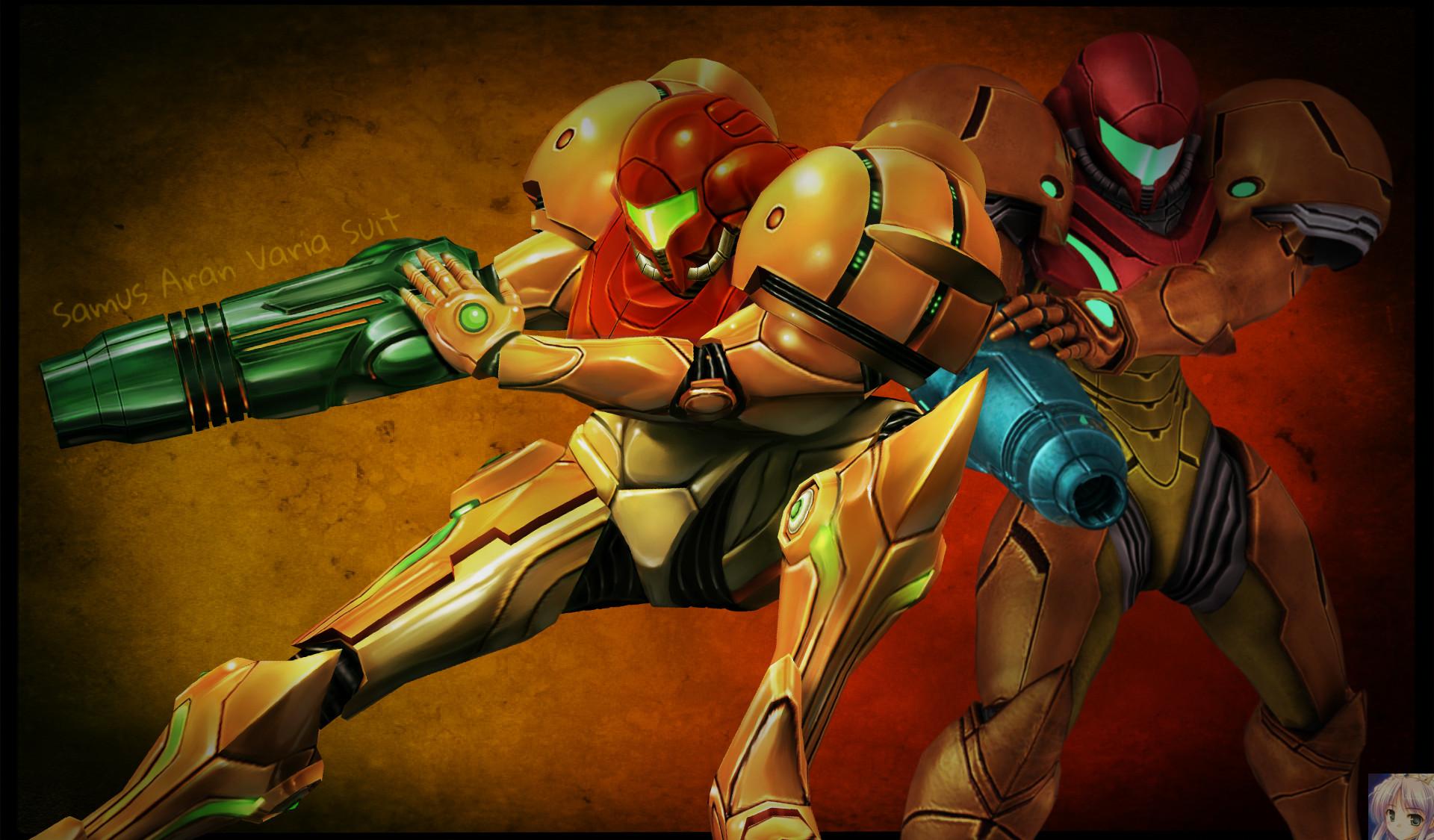 … Metroid Samus Aran Varia Suit wallpaper by FireFox4X